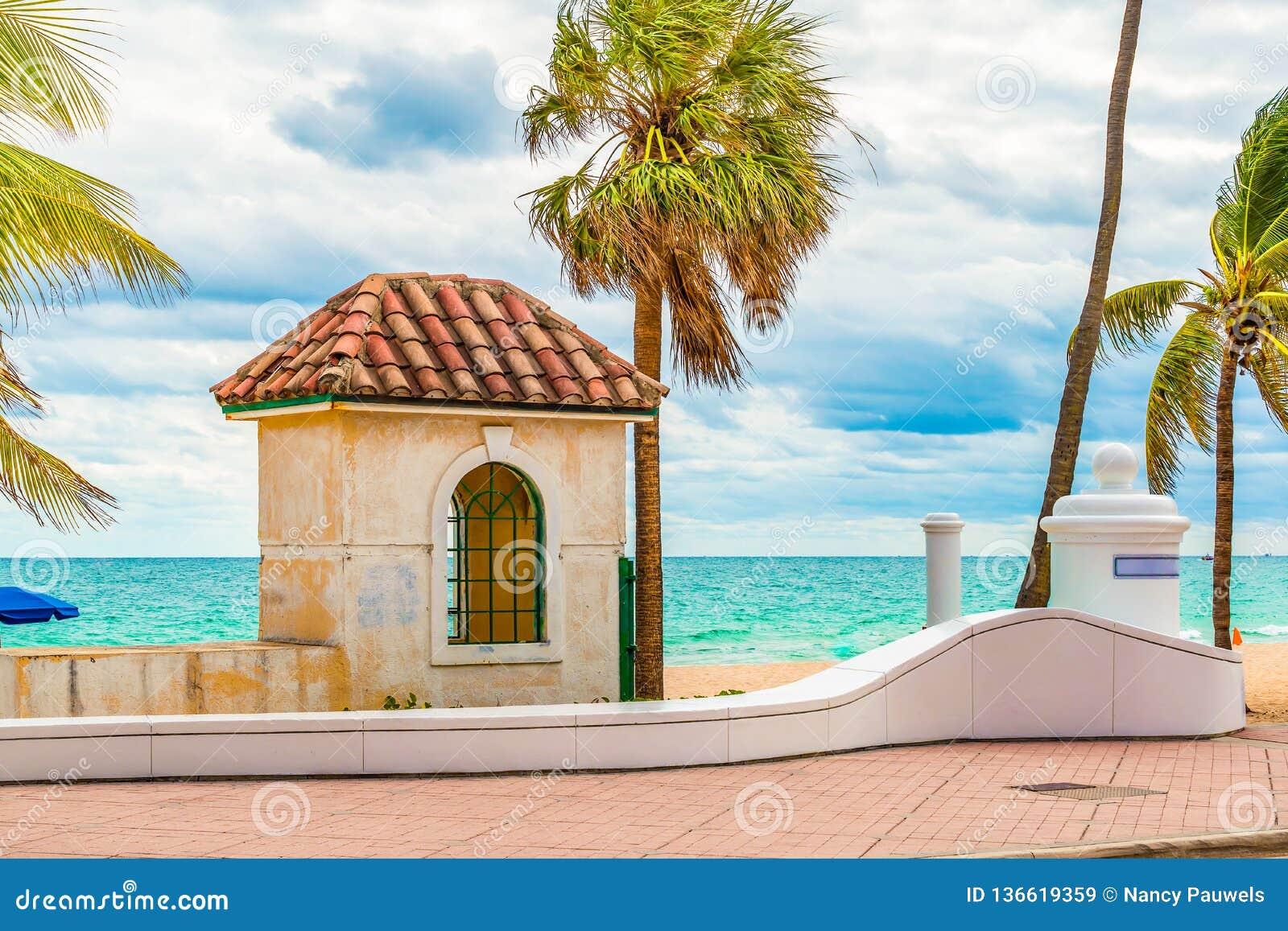 Plage de Fort Lauderdale, la Floride
