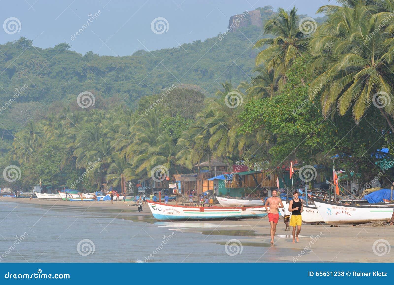 Plage de Palolem dans Goa