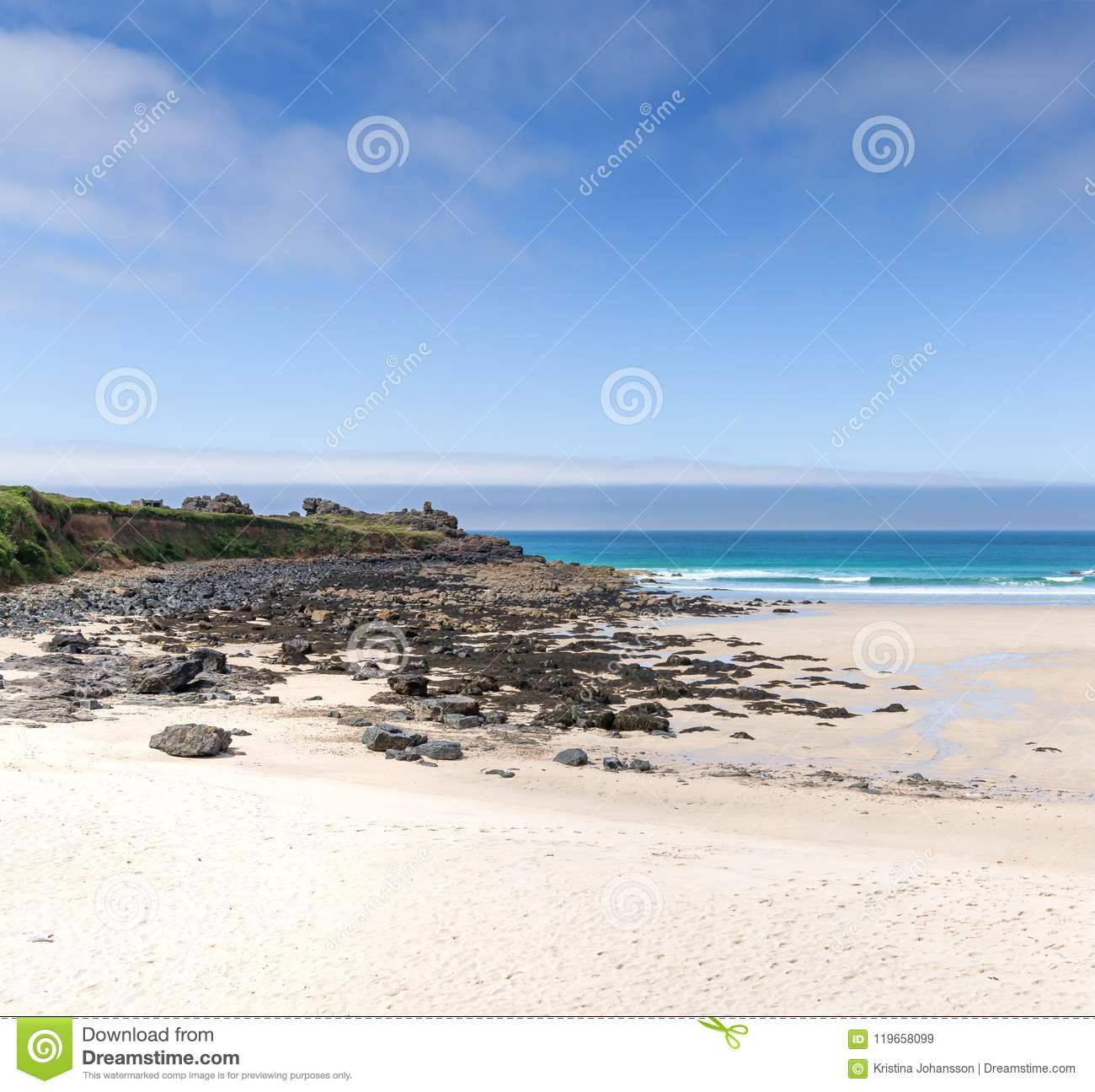 Plage de St Ives Cornwall England