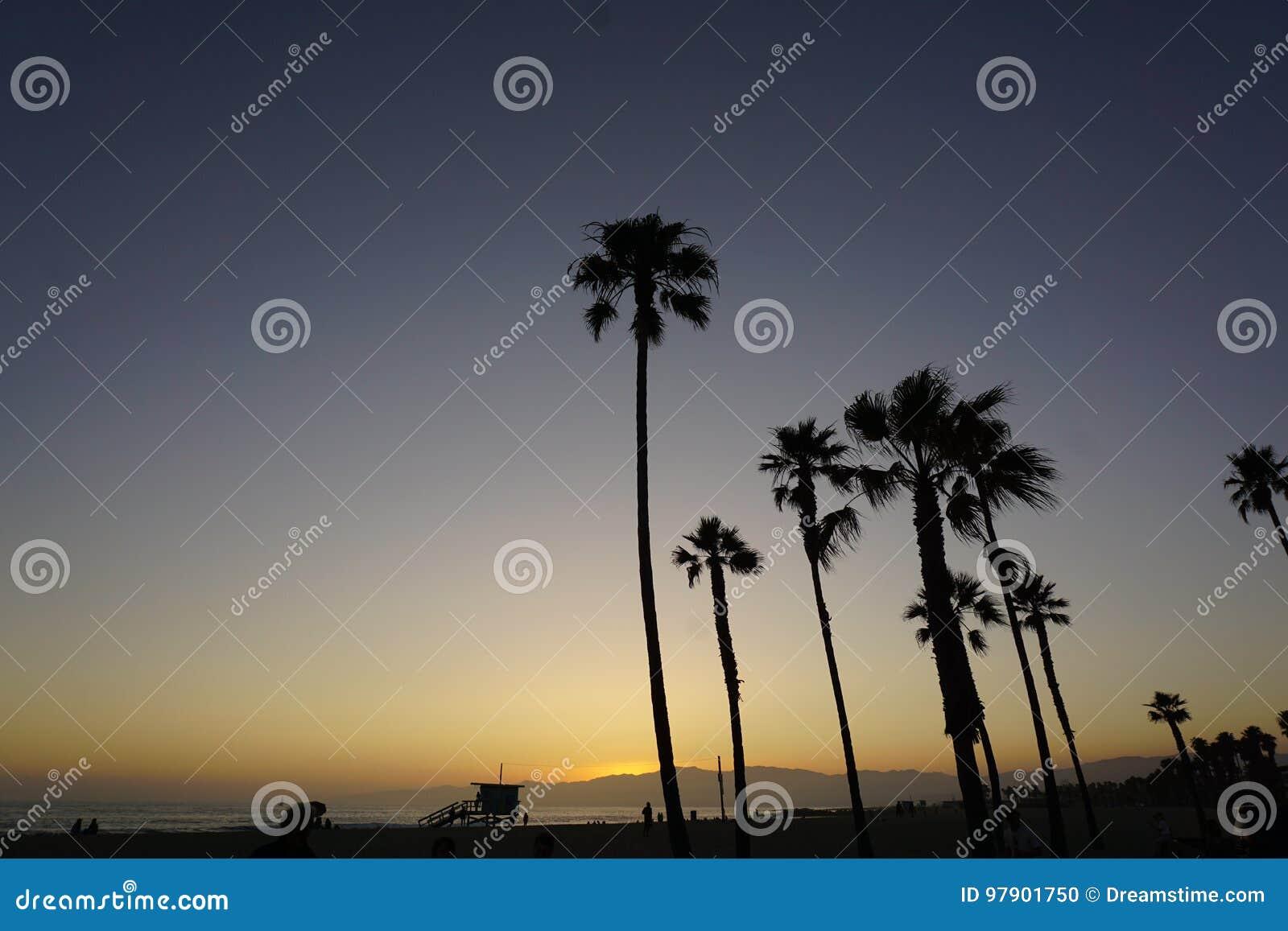 Plage de Venise, Los Angeles, la Californie Etats-Unis