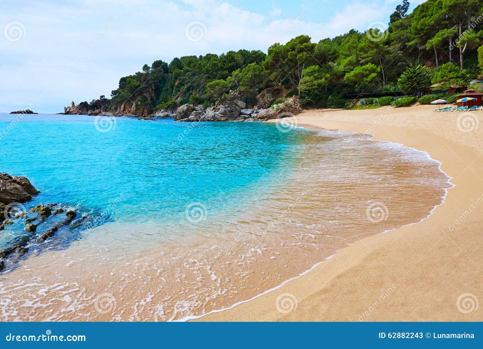 Plage Lloret de Mar Costa Brava de Cala Treumal