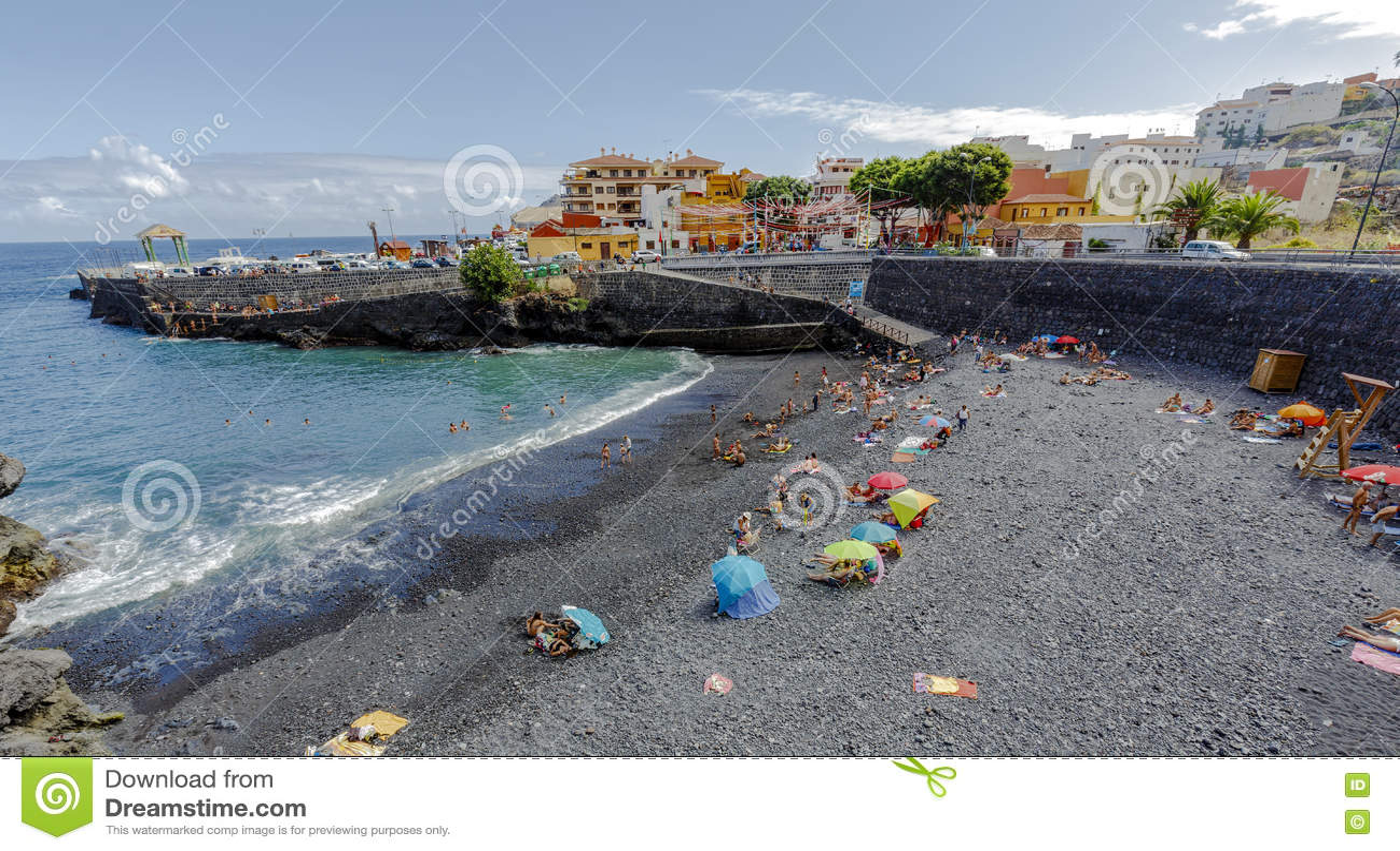 Plages et Océan Atlantique de Garachico l espagne