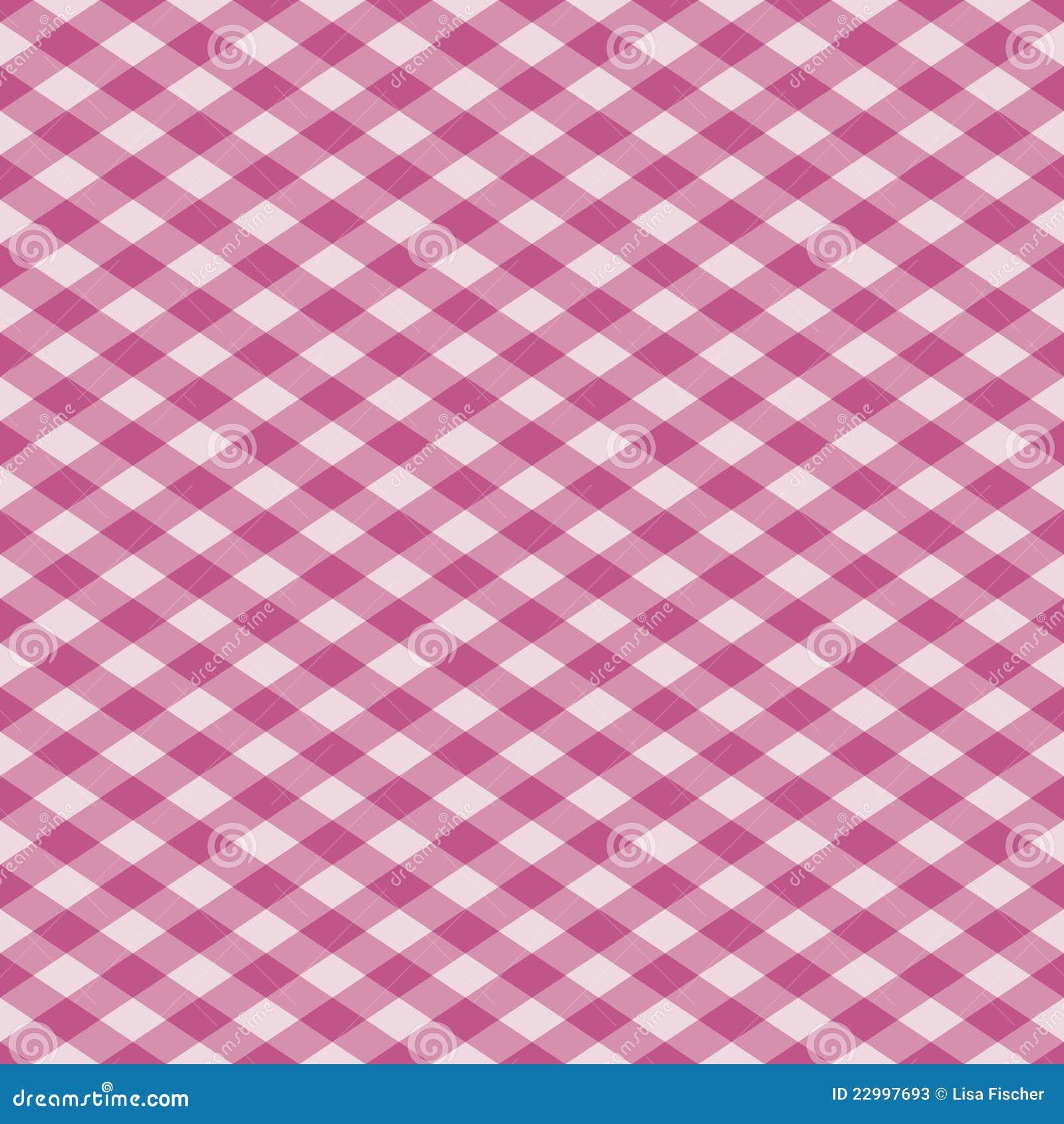 plaid del percalle nel colore rosa fotografie stock immagine 22997693. Black Bedroom Furniture Sets. Home Design Ideas
