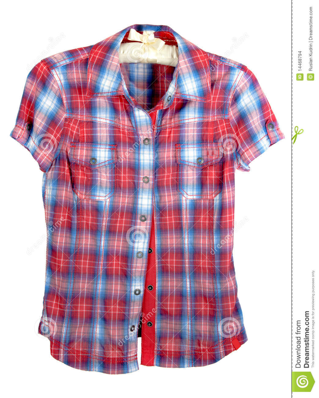 f8ccb37b72344 Red And Blue Checked Shirt Ladies - Cotswold Hire