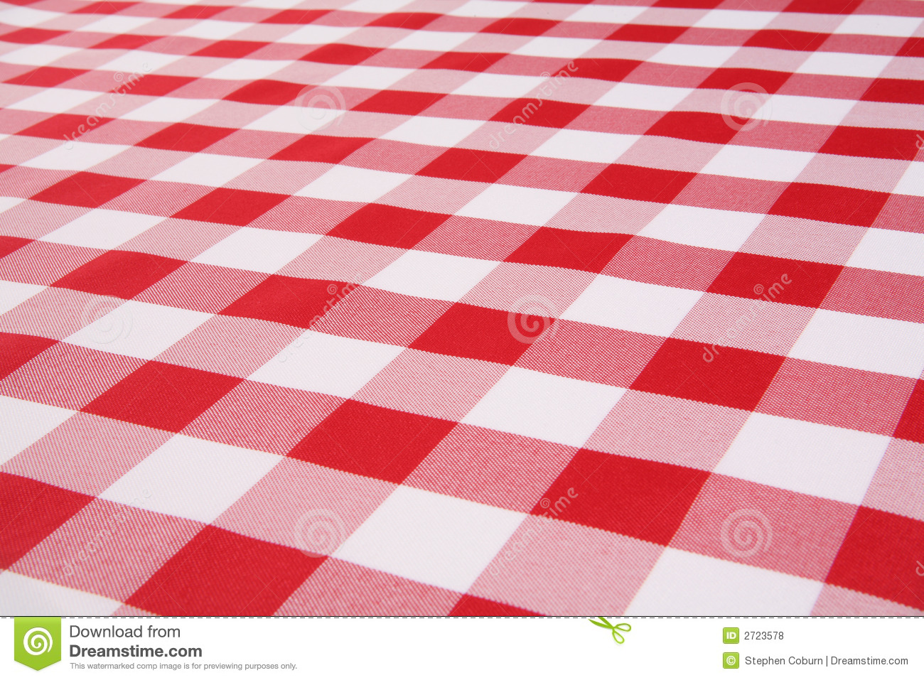 Royalty Free Stock Photo. Download Plaid Tablecloth ...