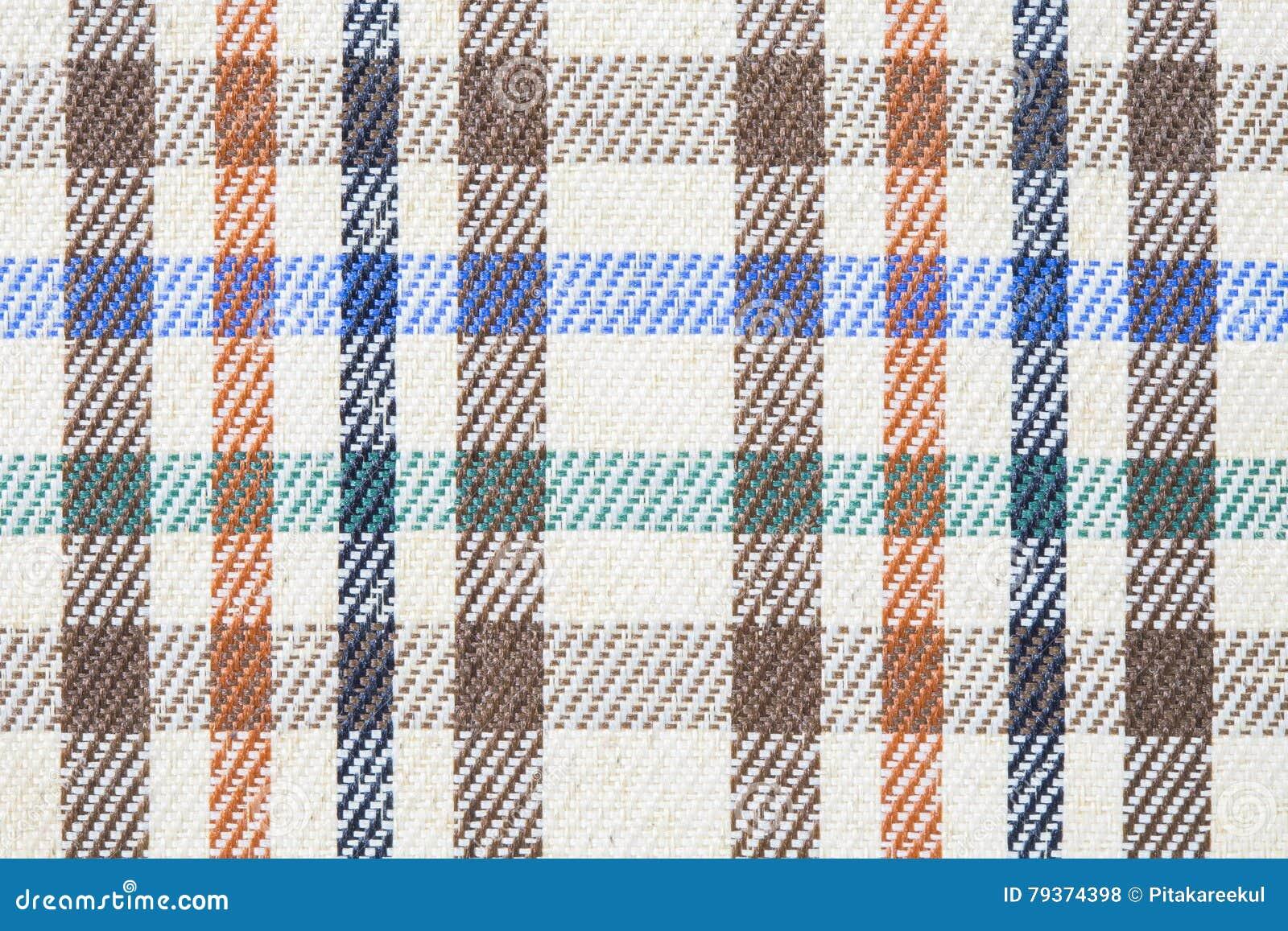Plaidgeruit schots wollen stof voor naadloos patroon als achtergrond