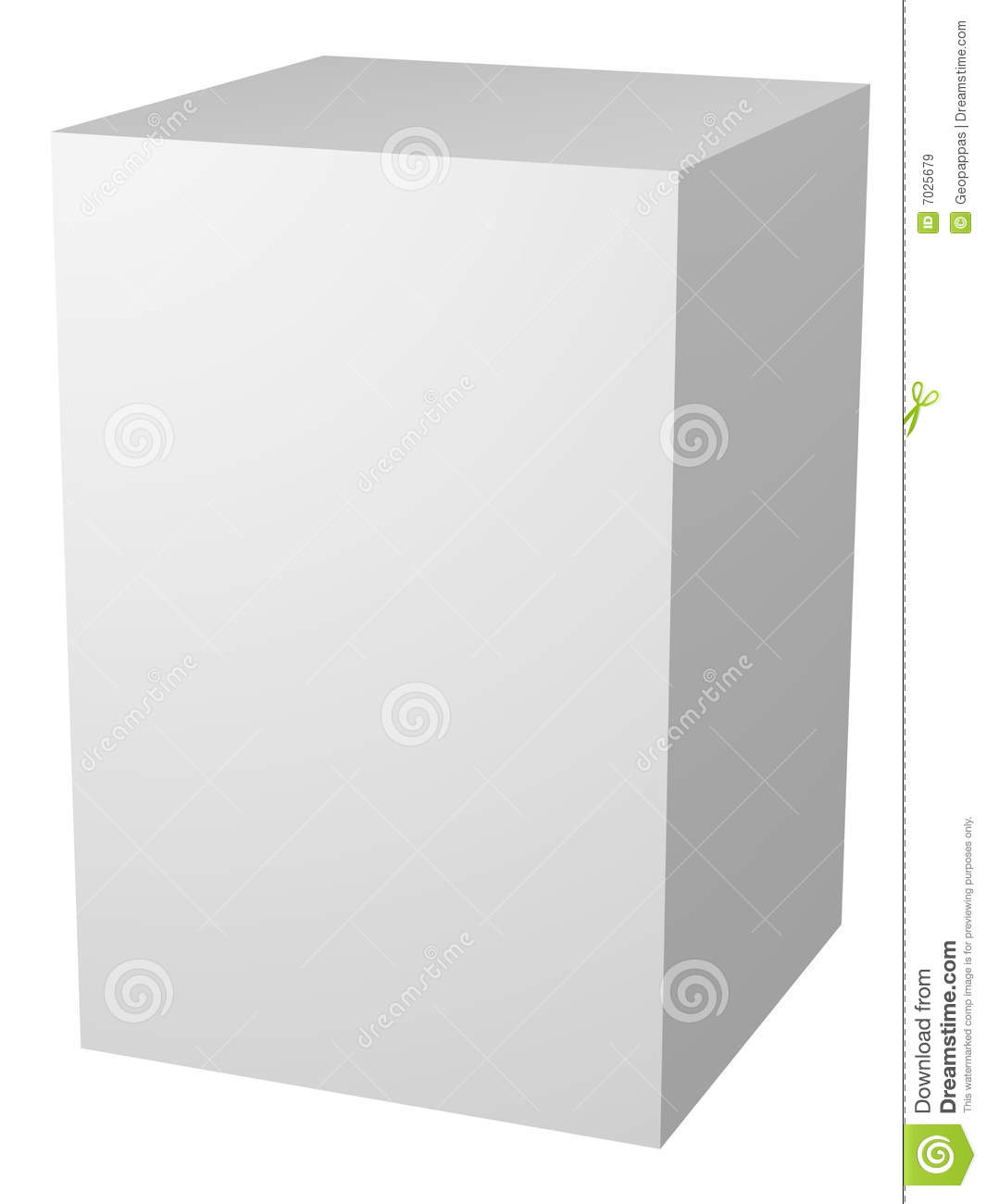Plain Blank White Box Packaging Royalty Free Stock Images ...