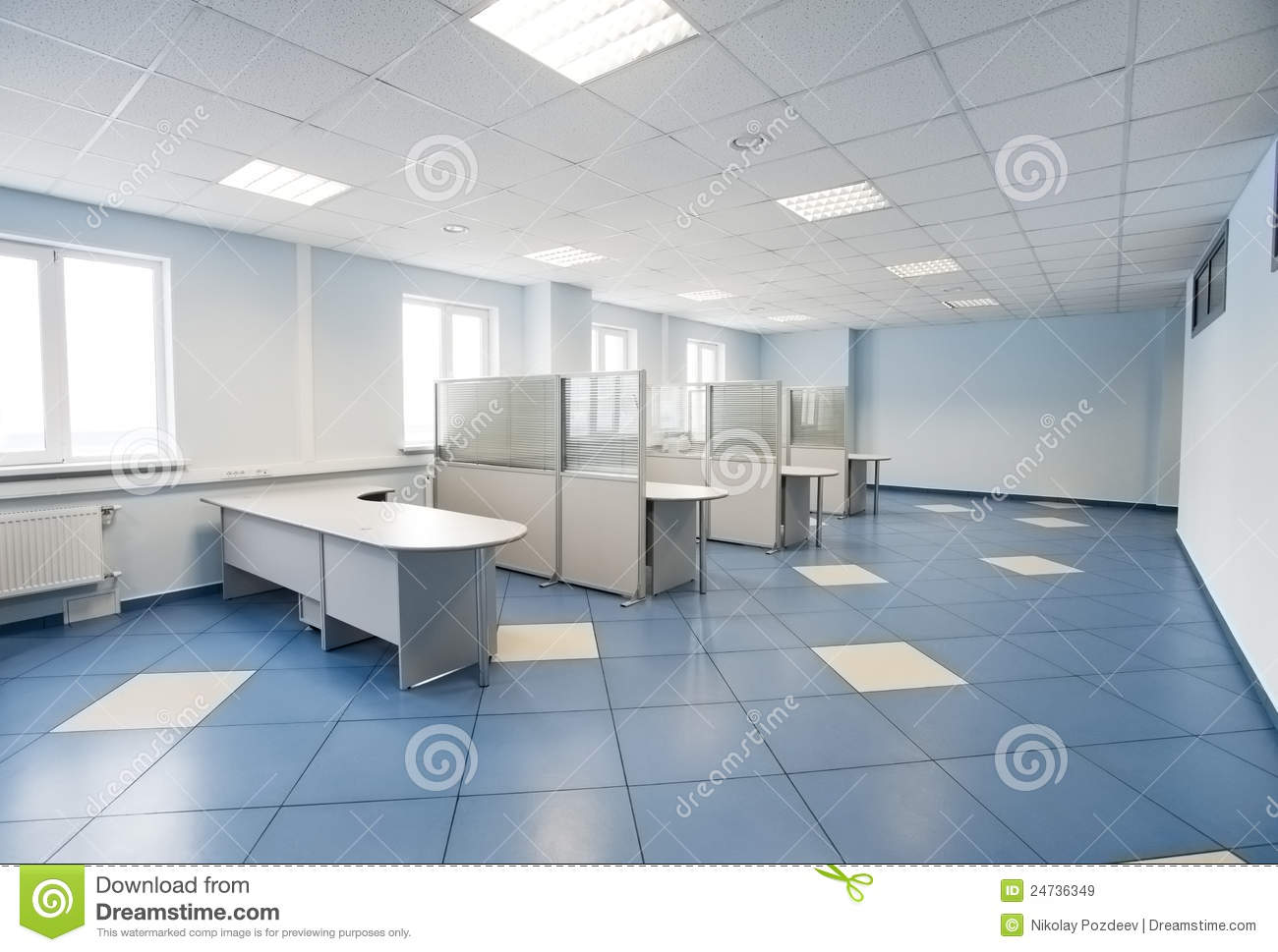 Enjoyable Office Space Interior Stock Photo Image 43309270 Largest Home Design Picture Inspirations Pitcheantrous