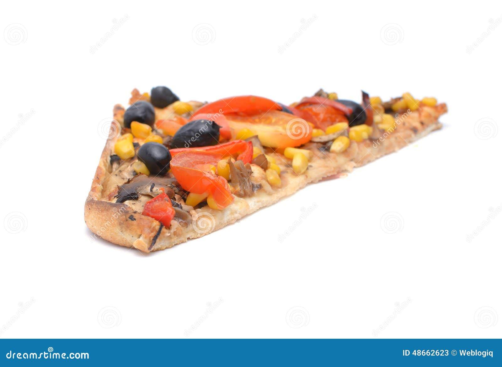Plak van Pizza