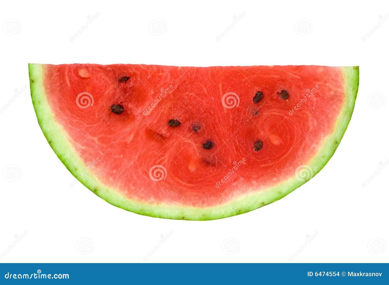 Plak van Watermeloen