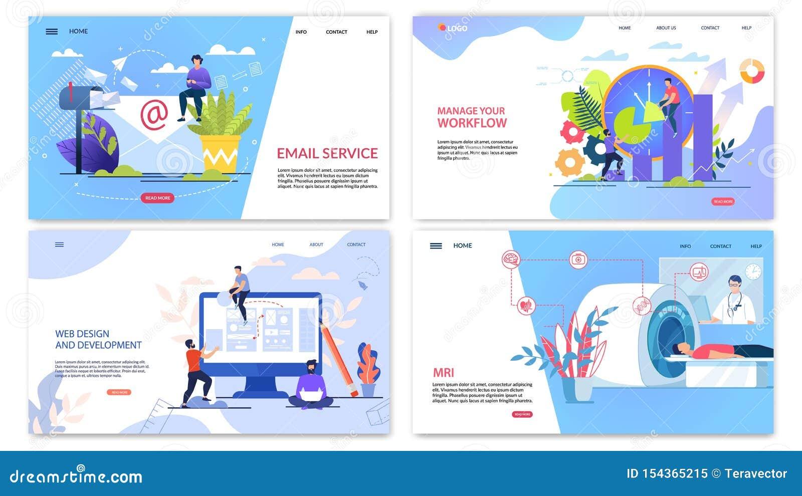 Plakat-Aufschrift-E-Mail-Service-Beschriftungs-Ebene