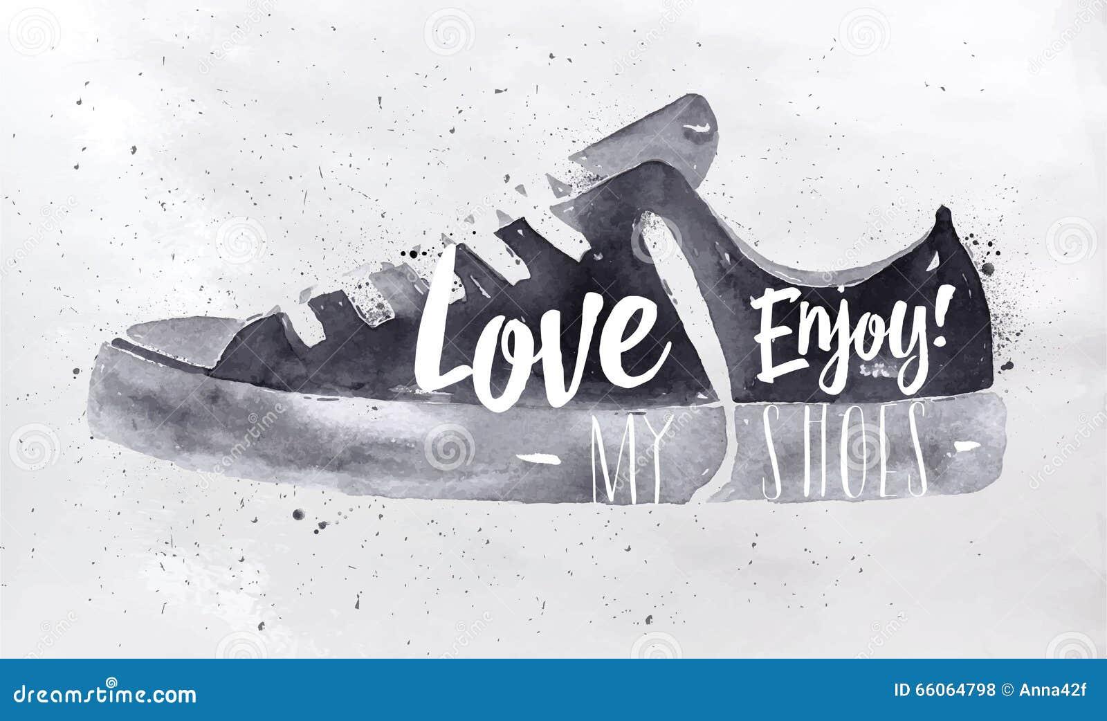 Plakatowi sportów buty