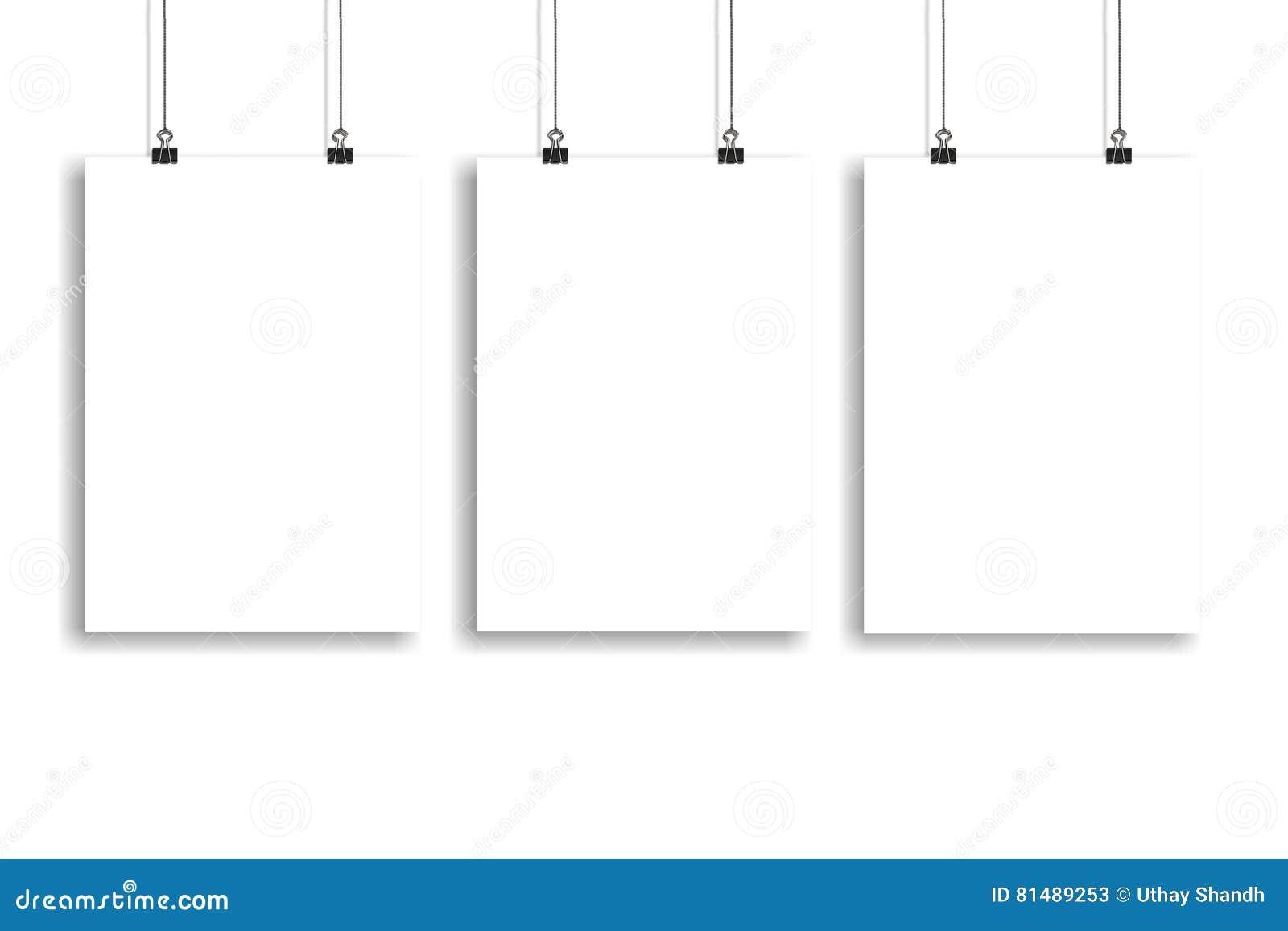 Plakatspott des Weißbuches drei oben, Wand-Spott oben