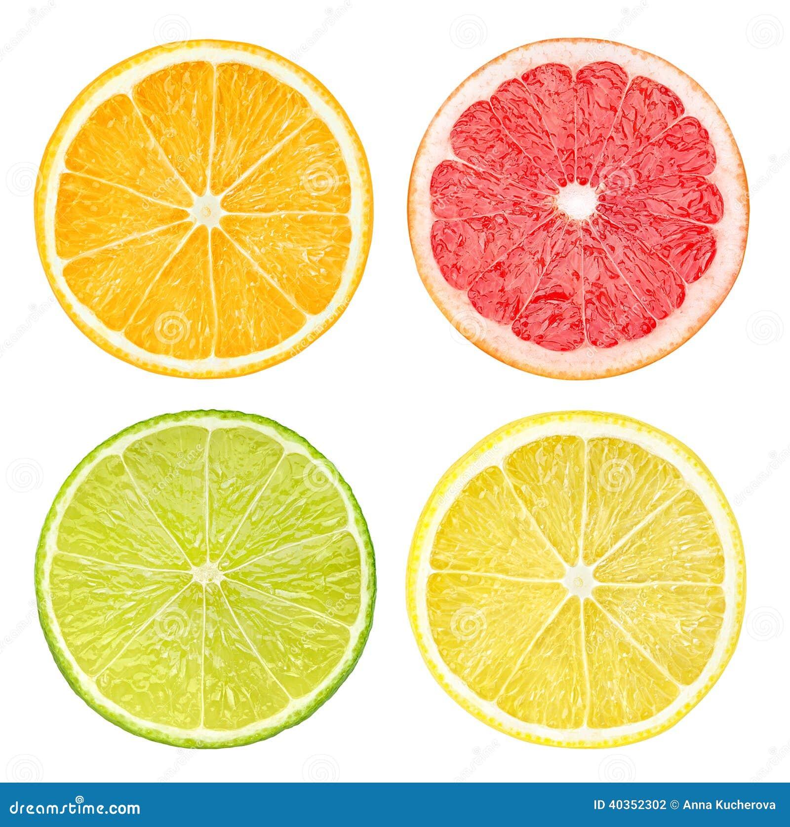 Plakken van citrusvruchten
