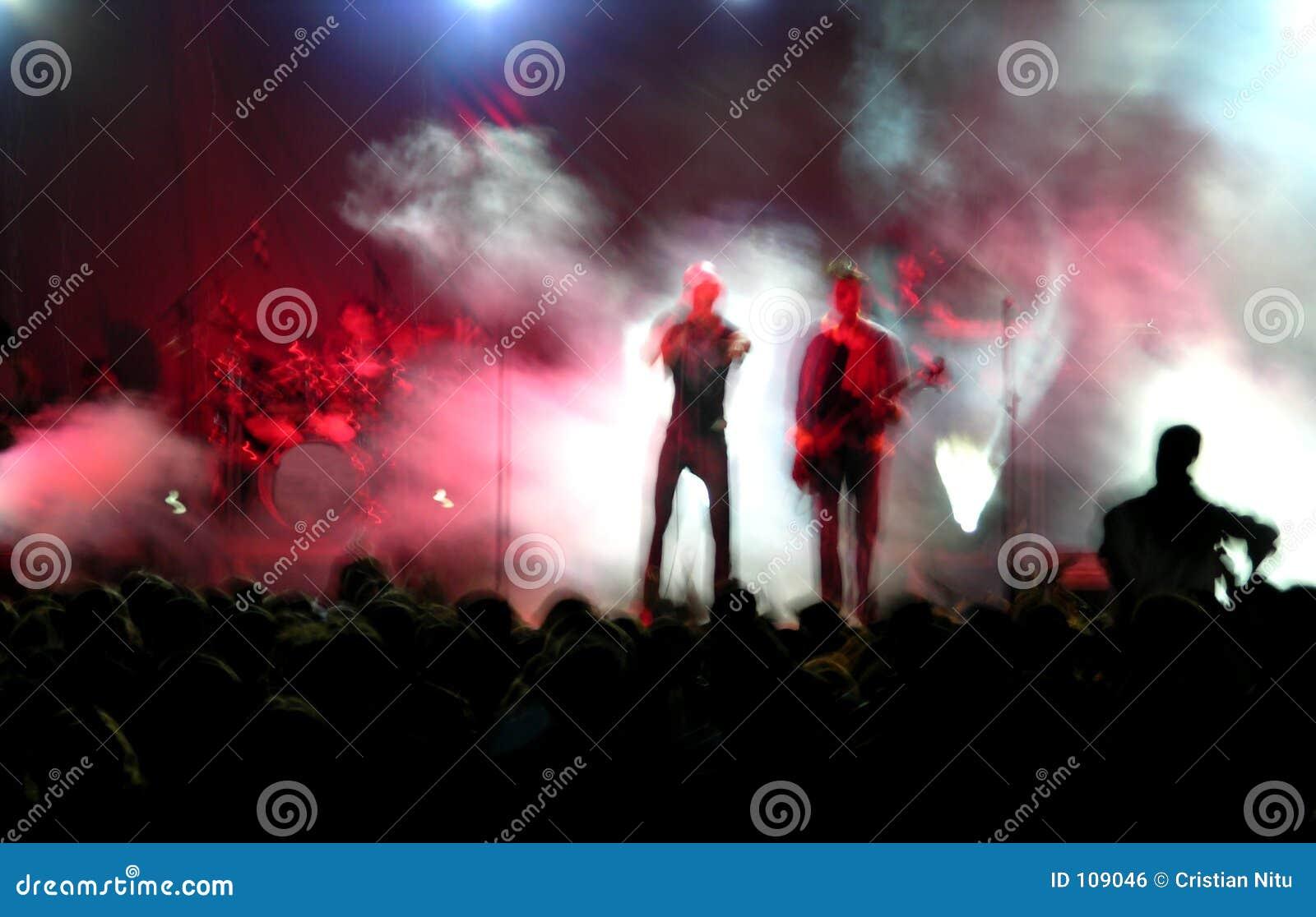 Plama koncert rock