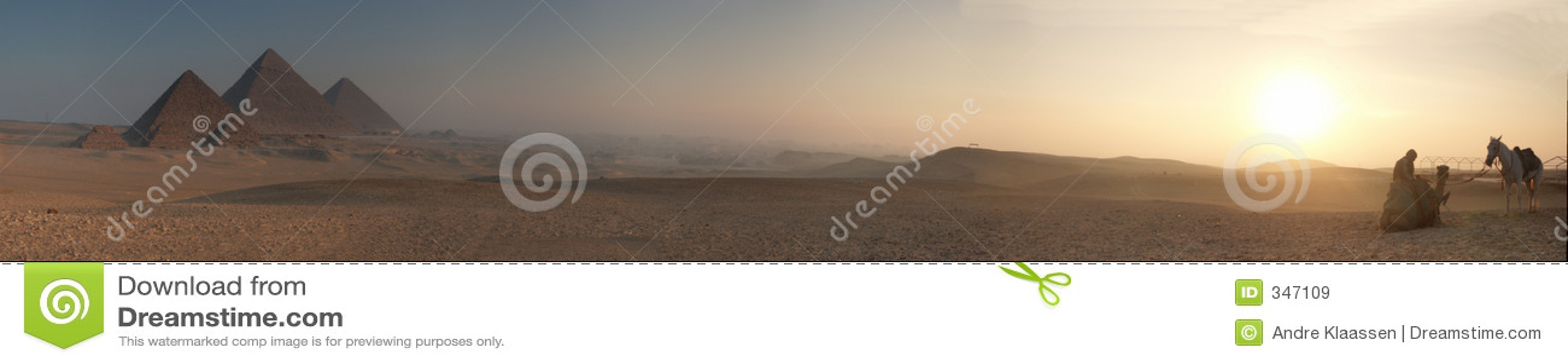 Plamy 5000x878 piramid wschód słońca