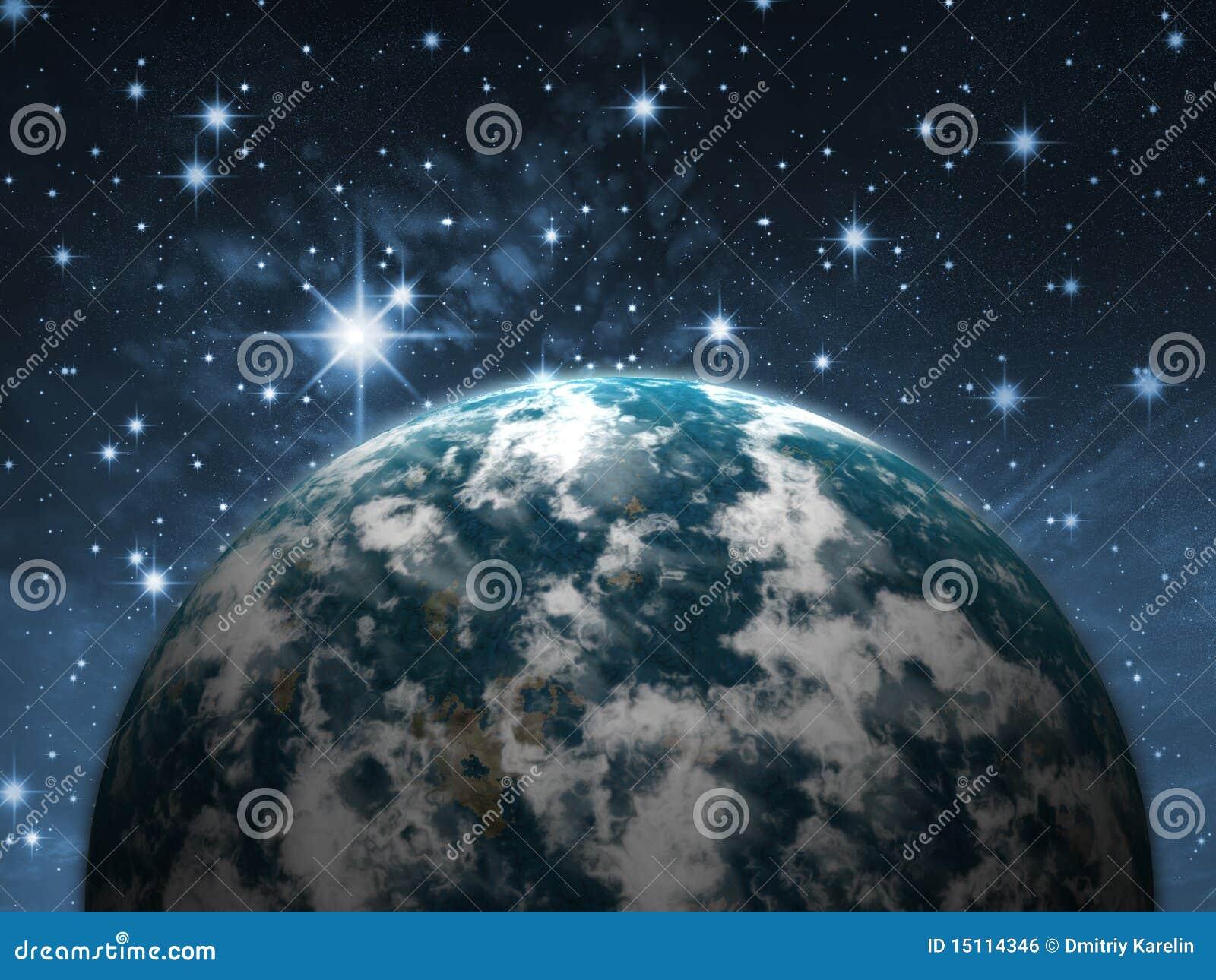 Planète dans le ciel