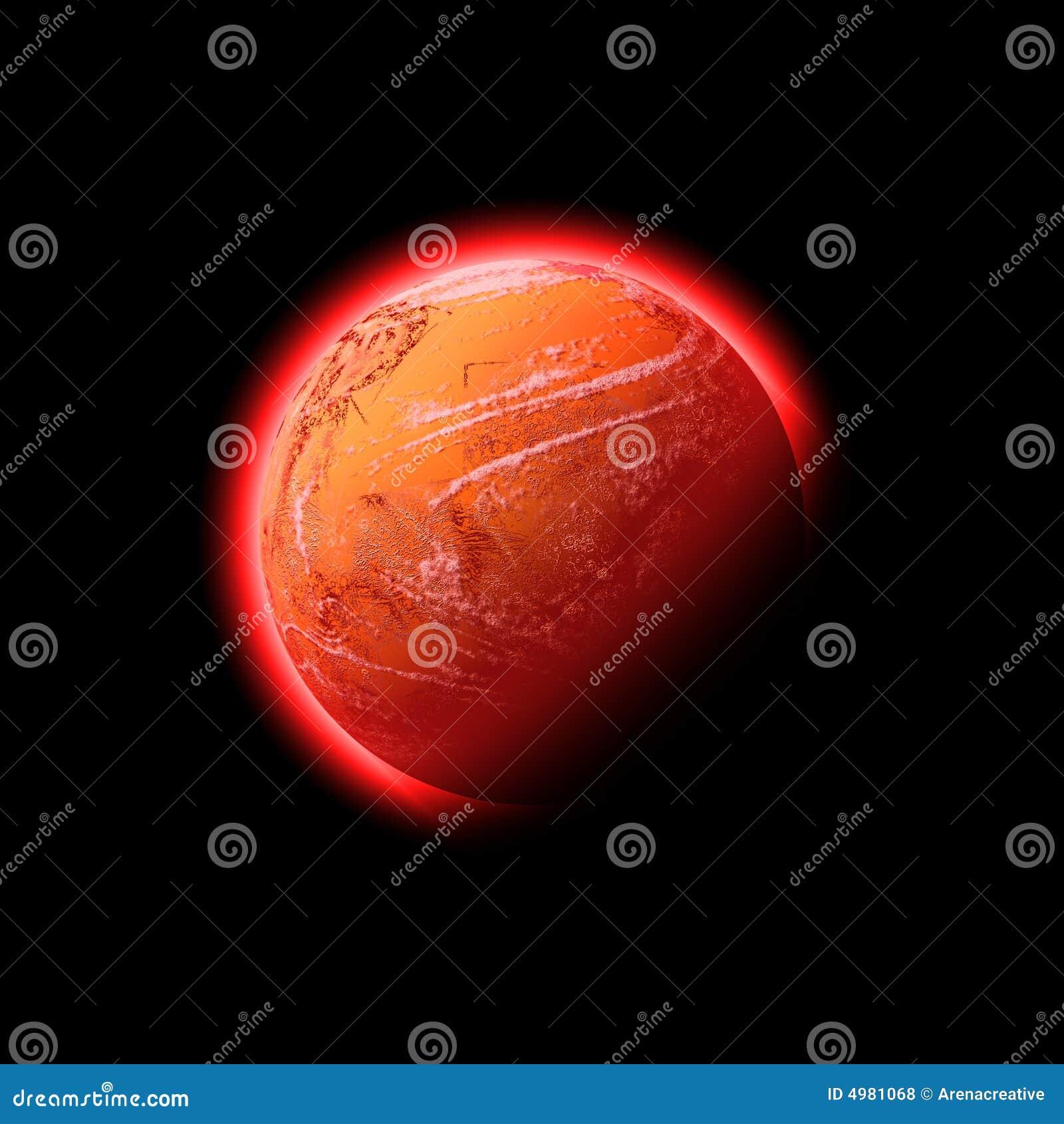Planète de l espace