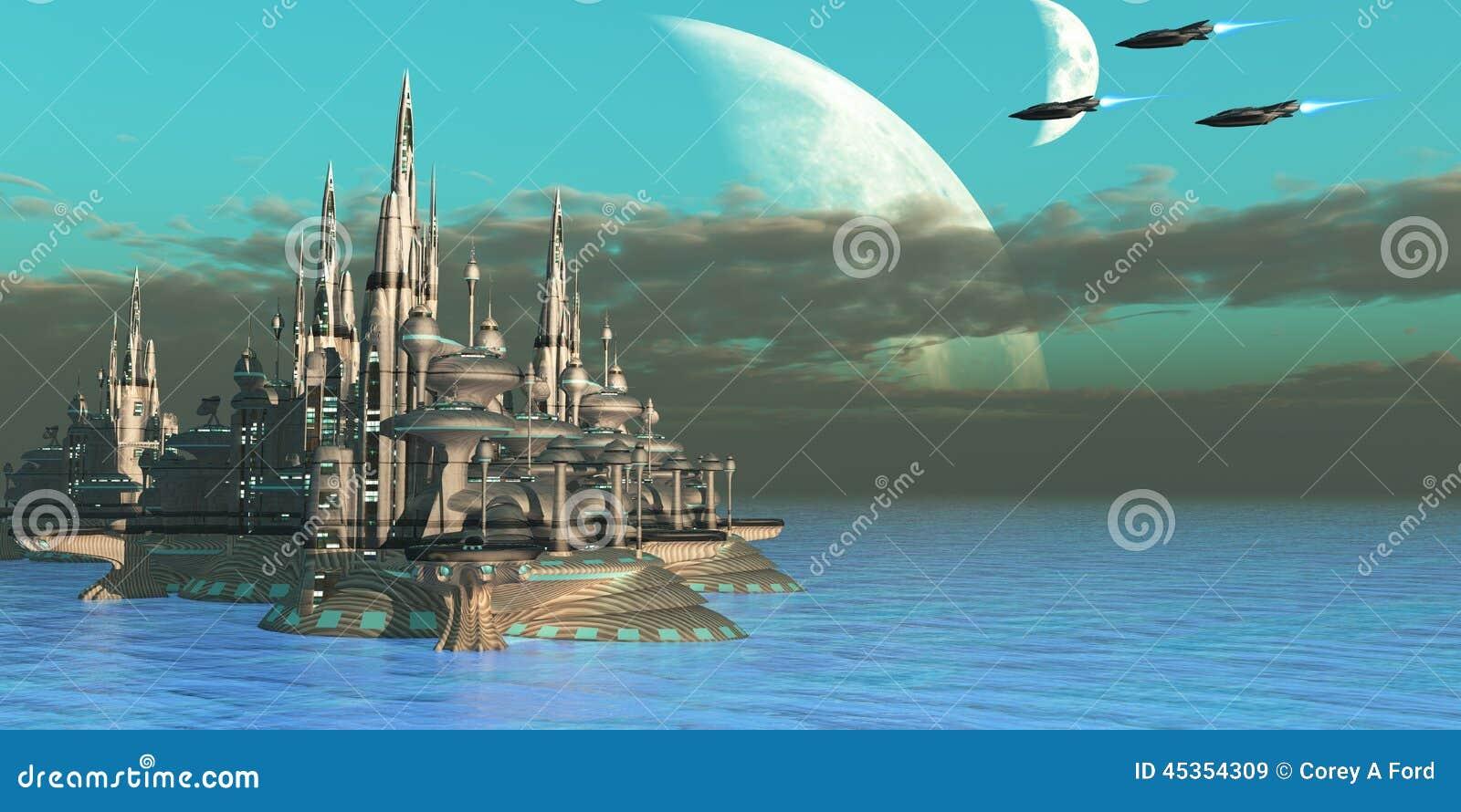 Planète de secteur de Quadron