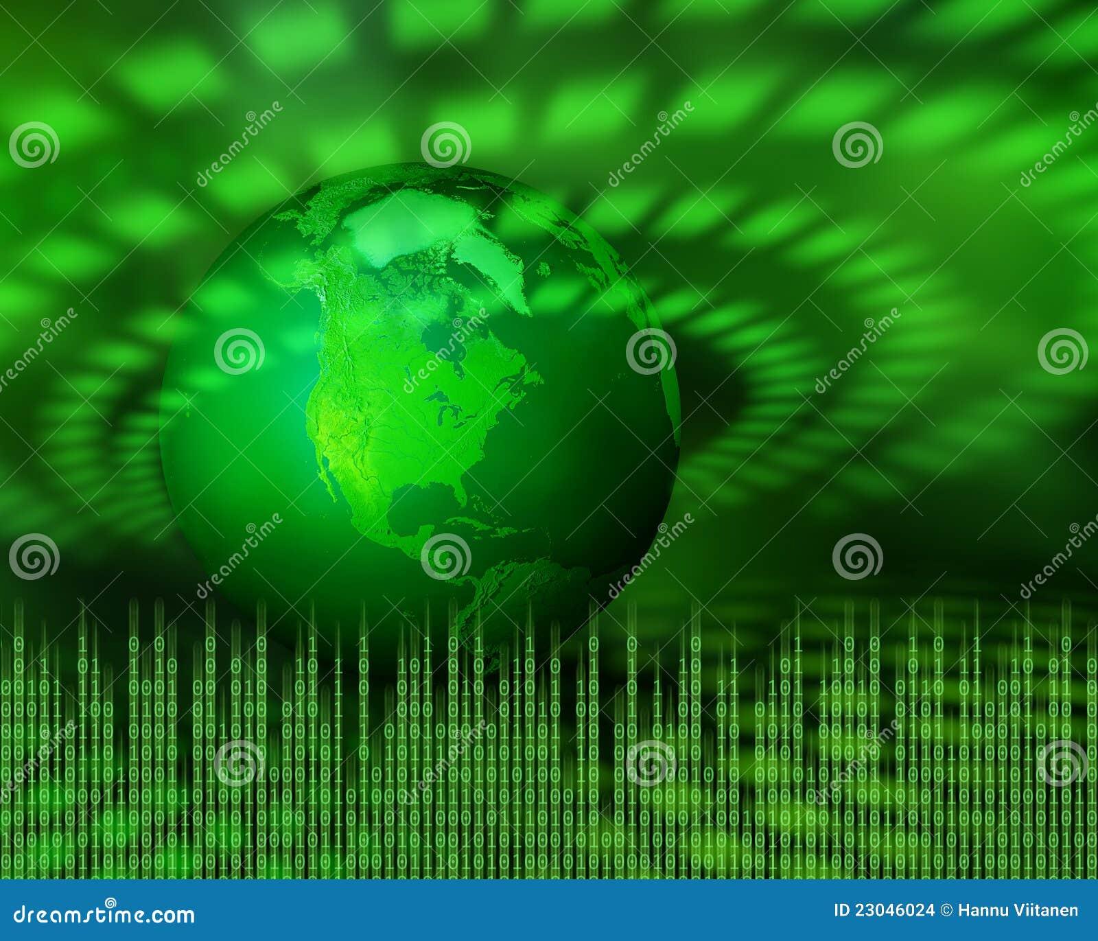 Planète digitale verte