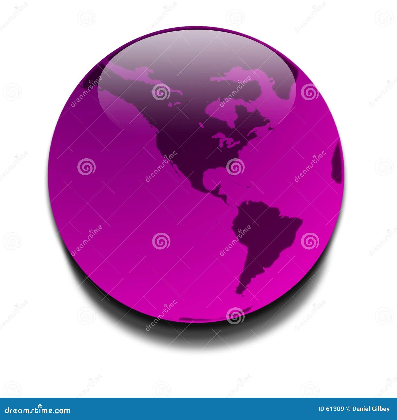 Download Planète pourprée illustration stock. Illustration du afrique - 61309