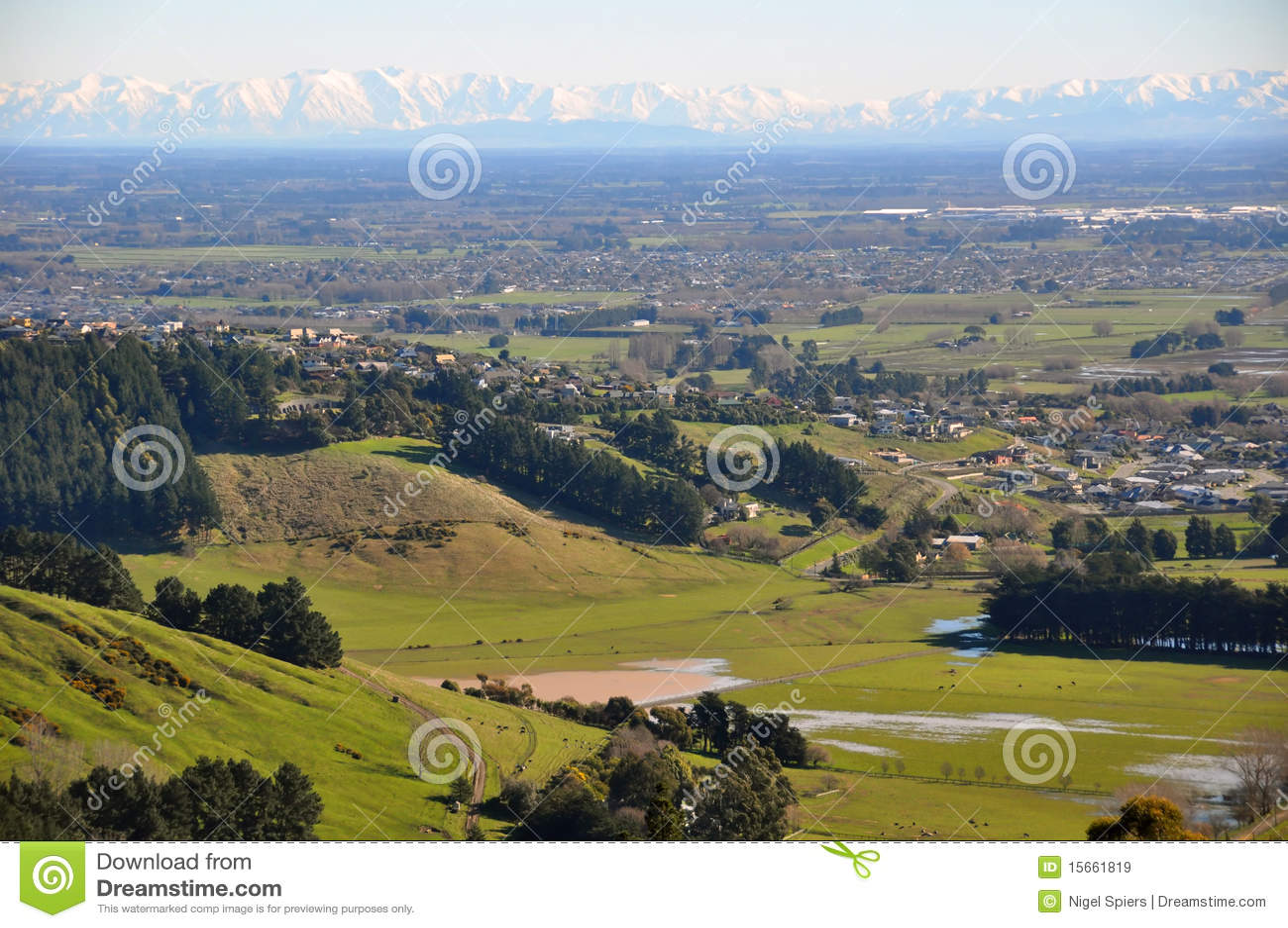 Planícies de Canterbury, Nova Zelândia