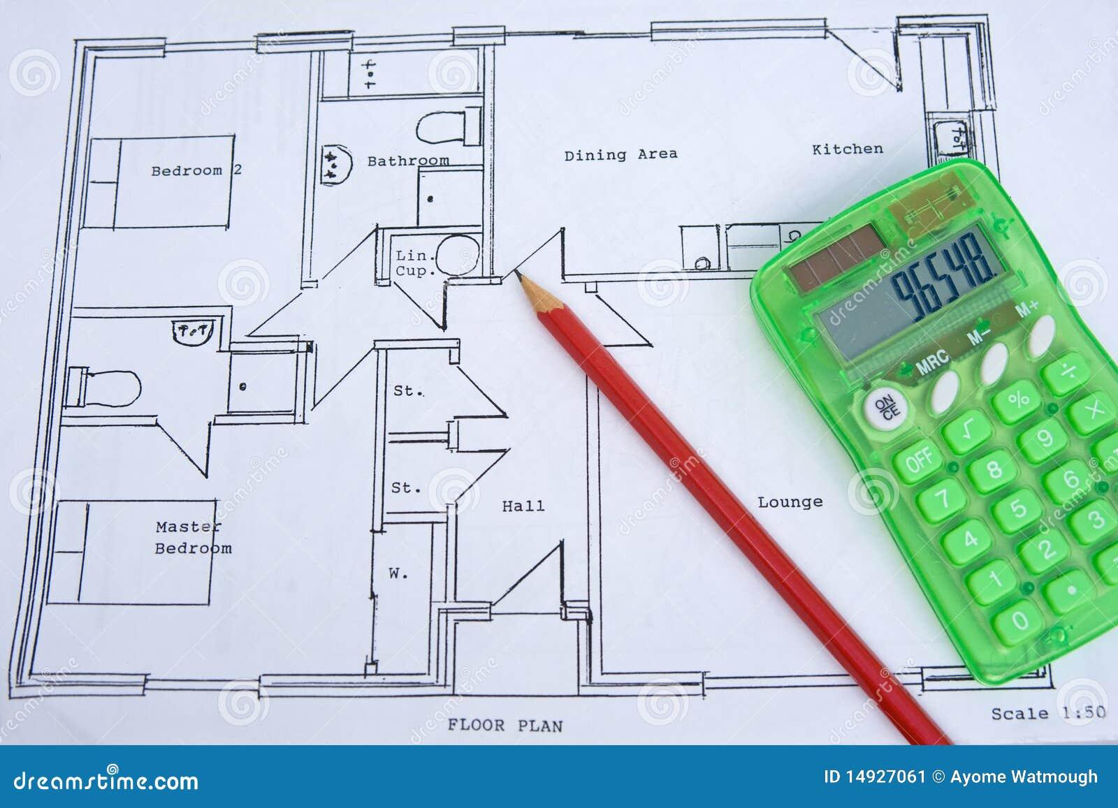 plan approximatif d 39 une petite maison r duction de