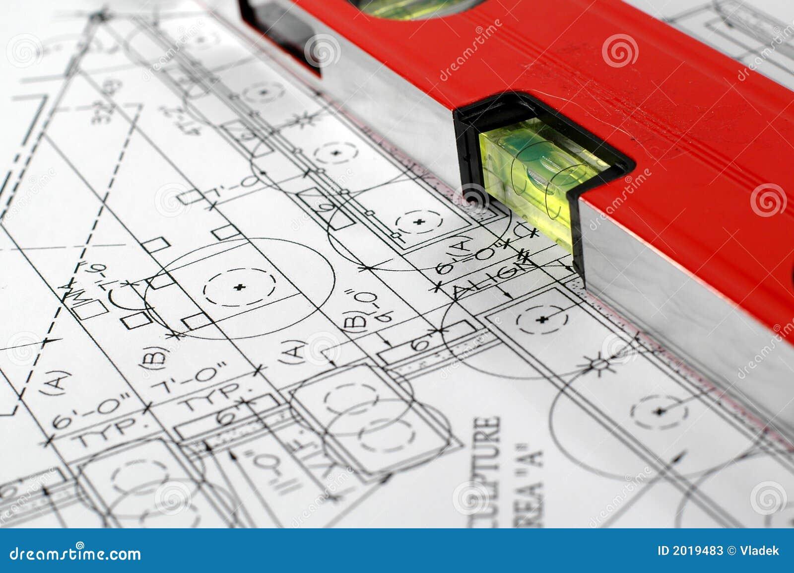 Plan architectural de maison