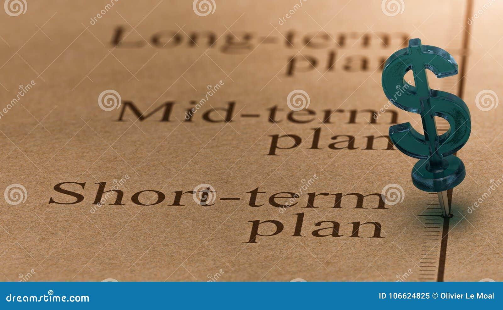 Plan d investissement à court terme
