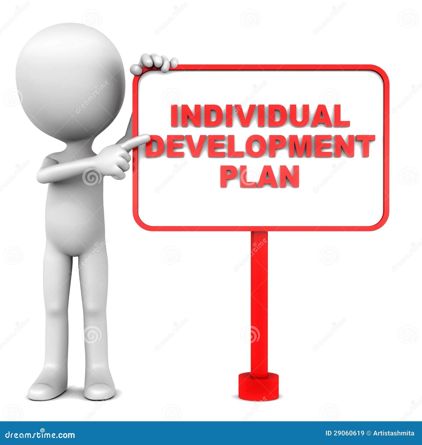 Plan De Desarrollo Individual Stock de ilustración - Ilustración de ...