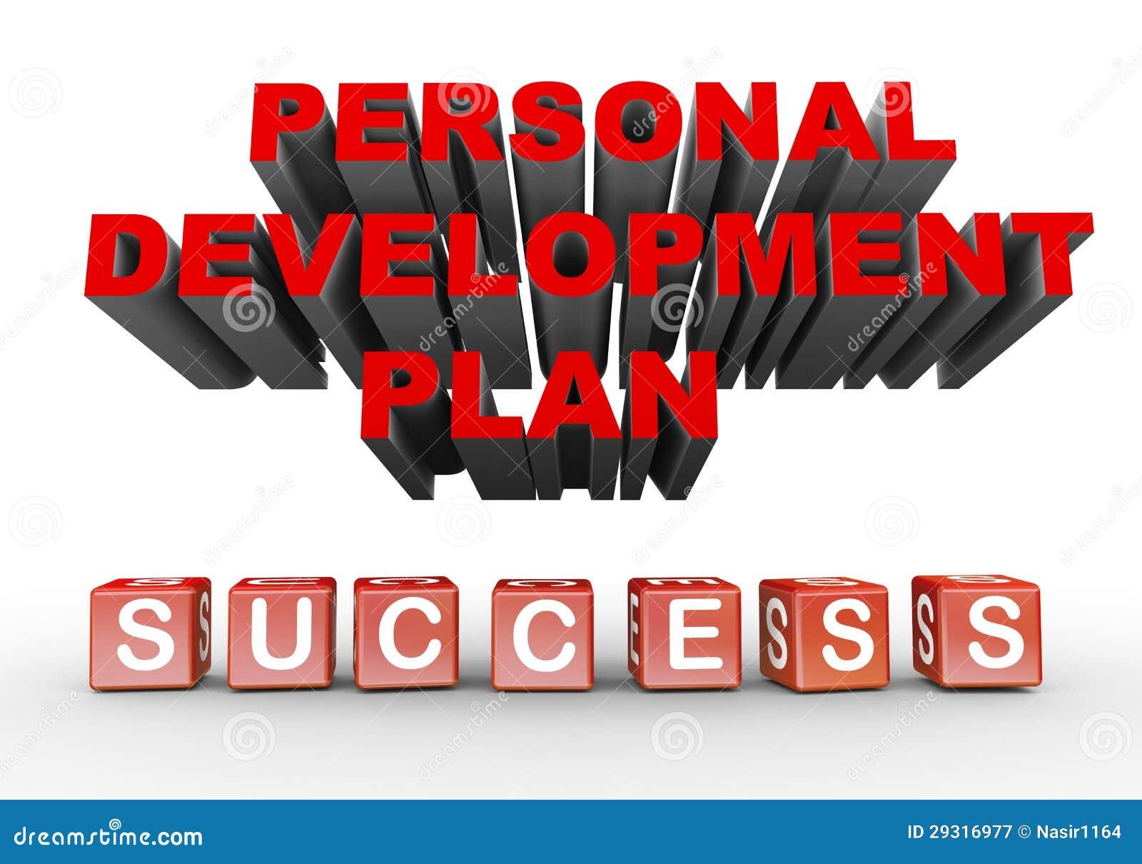 Plan De Desarrollo Personal 3d Stock de ilustración - Ilustración de ...