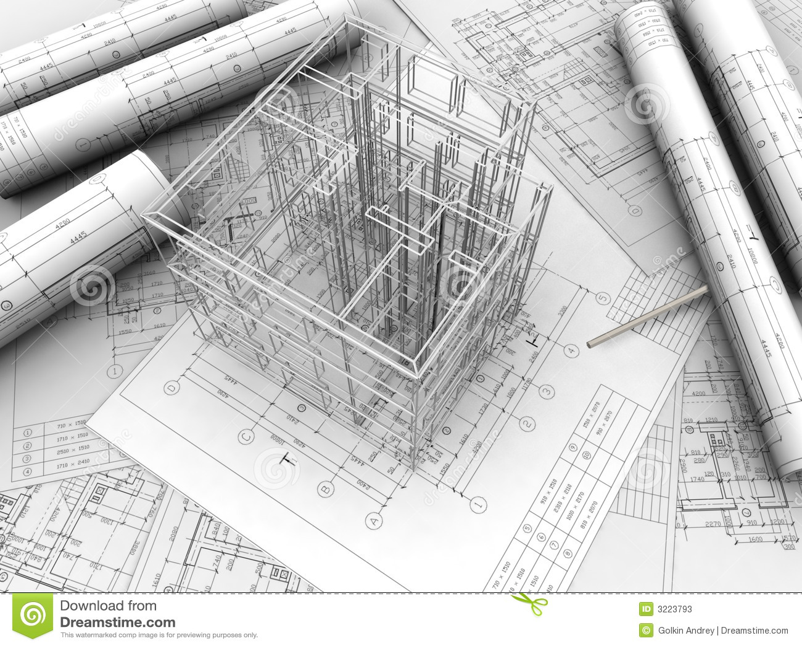 Plan Drawing Stock Illustration Image Of Plan Home