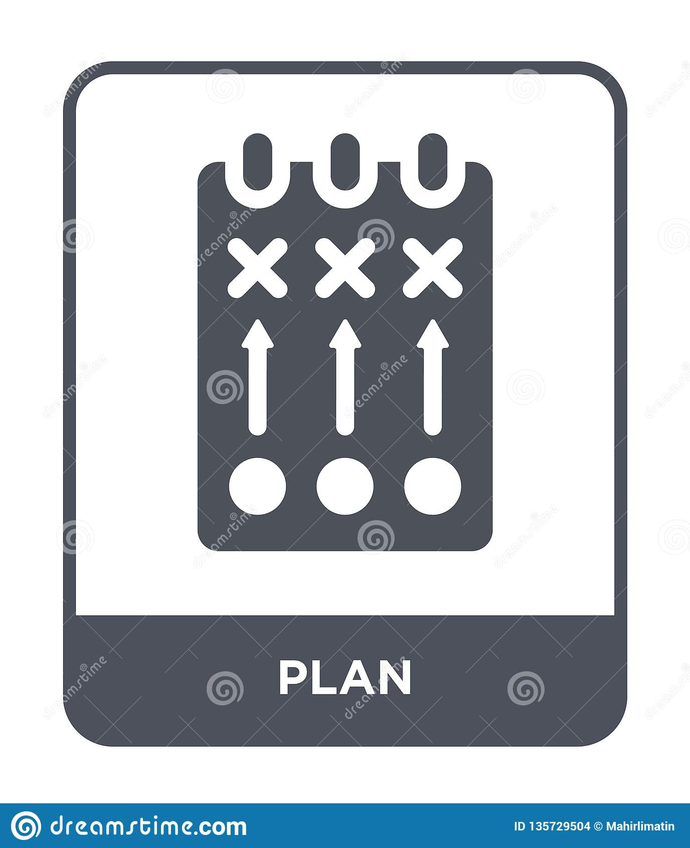 plan icon in trendy design style. plan icon isolated on white background. plan vector icon simple and modern flat symbol for web