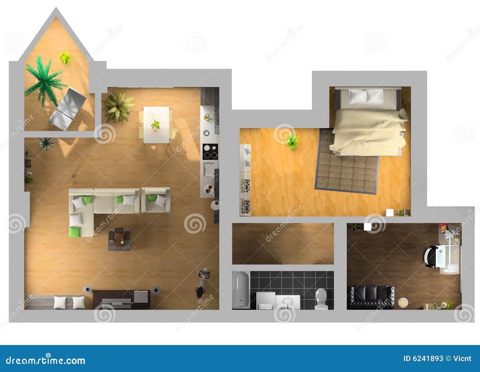 Plan interior