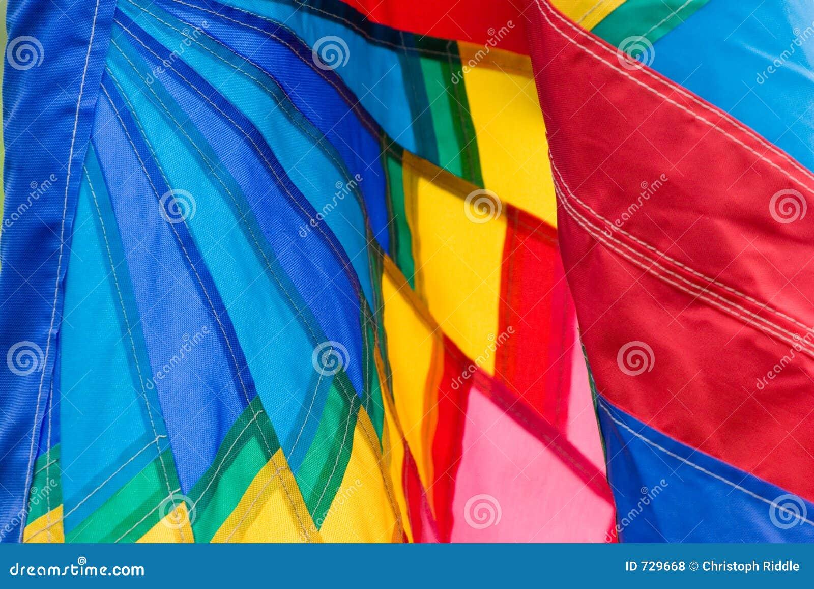 Plan rapproché coloré de drapeau