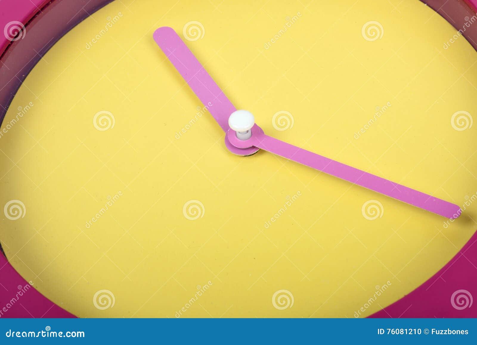 Plan rapproché d horloge