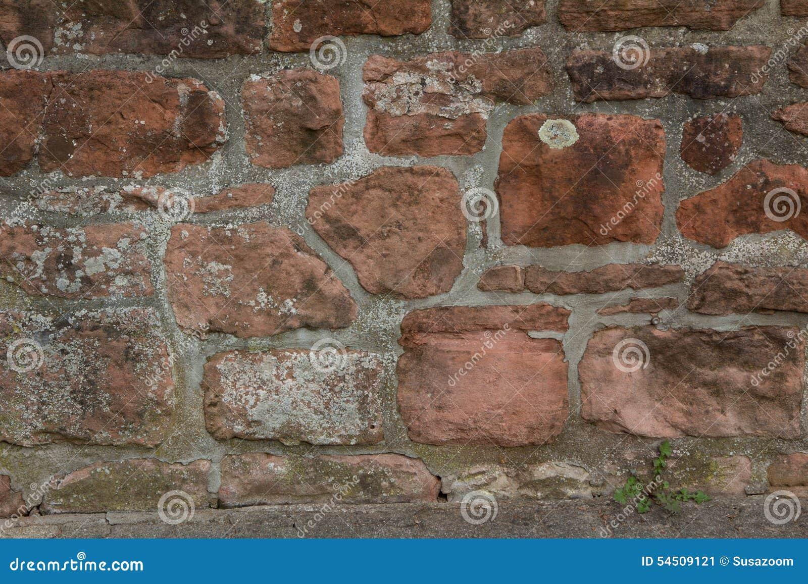 Plan rapproché d un mur de briques sale