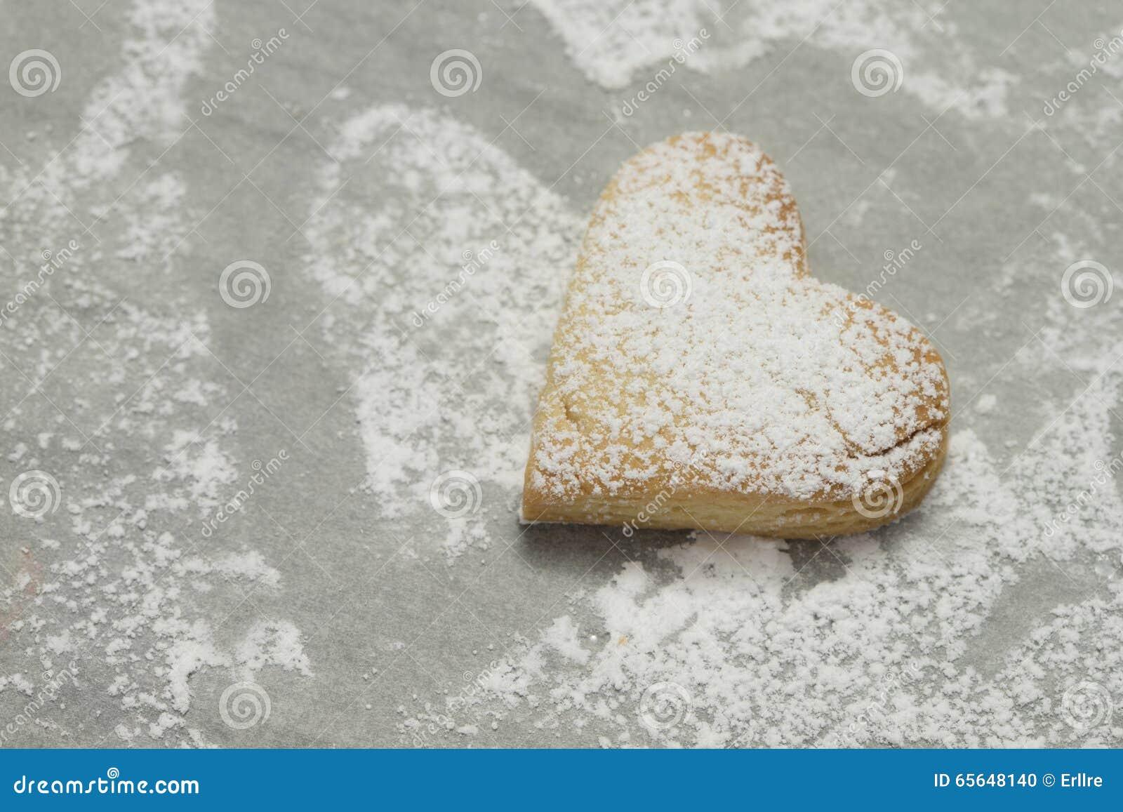 Plan rapproché de biscuit cuit au four