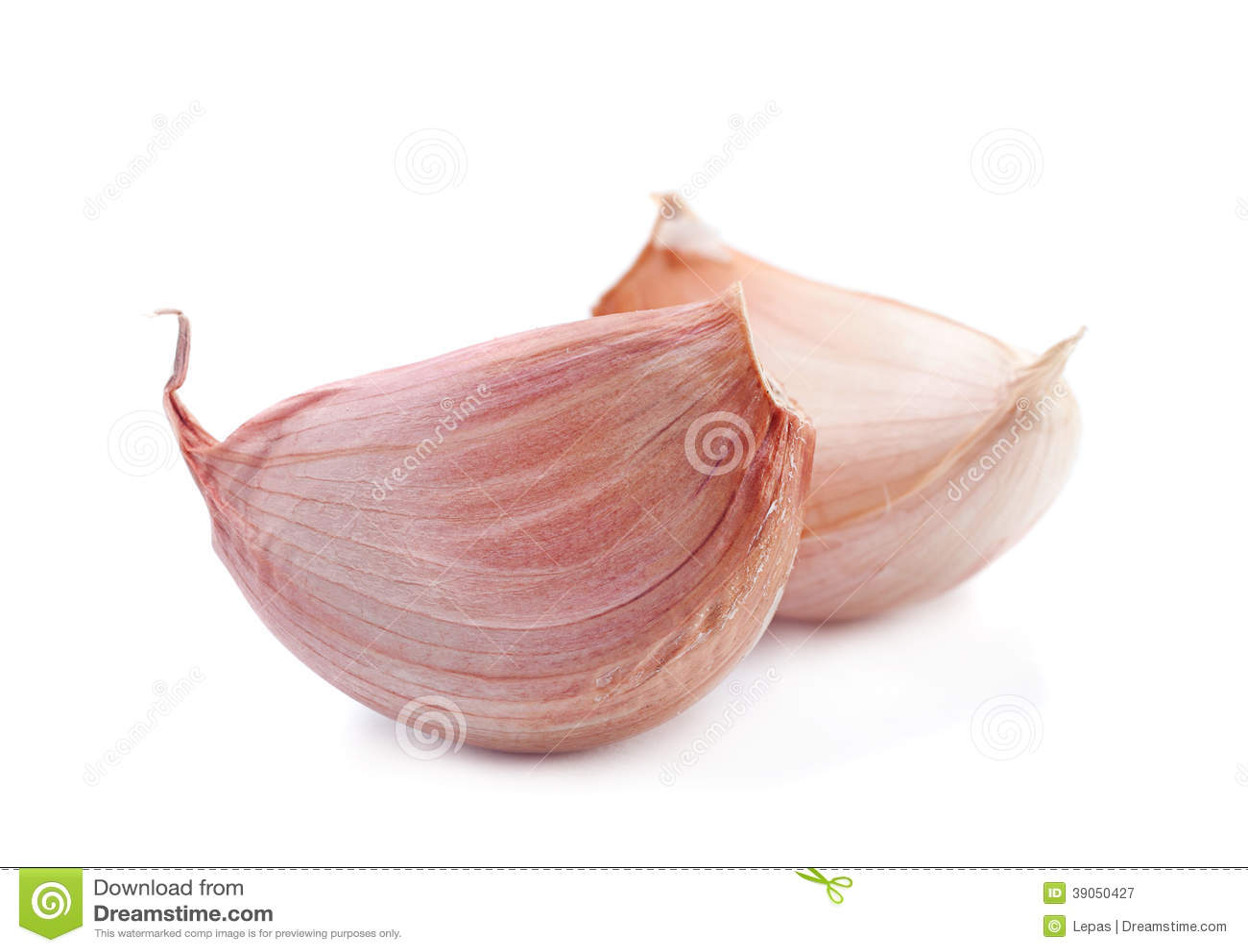 Plan rapproché de légume d ail