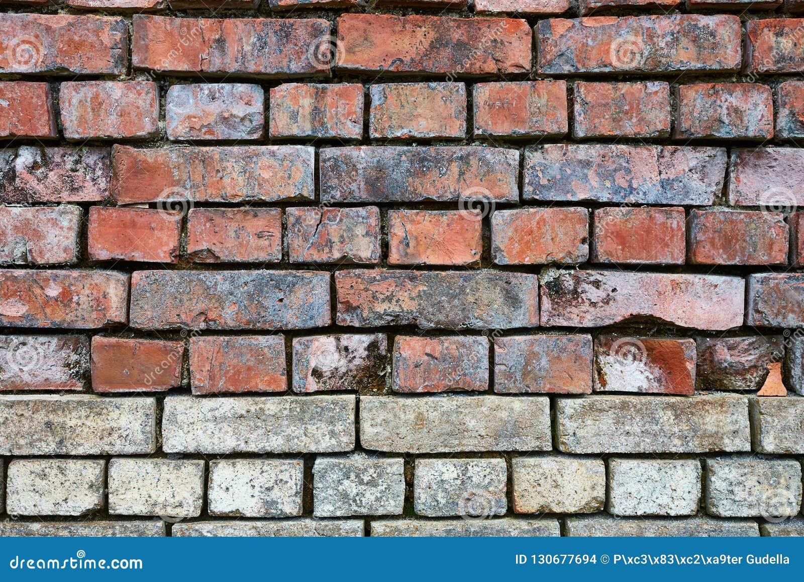Plan rapproché de mur de briques