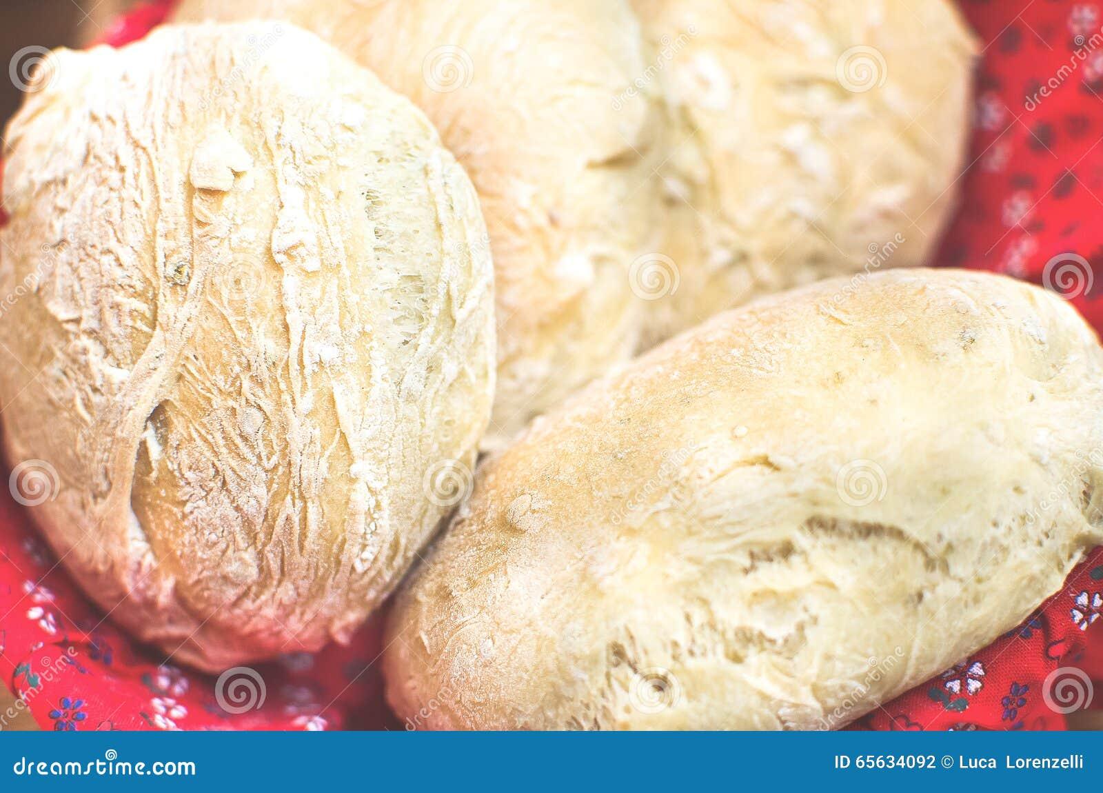 Plan rapproché de pains de pain d olives