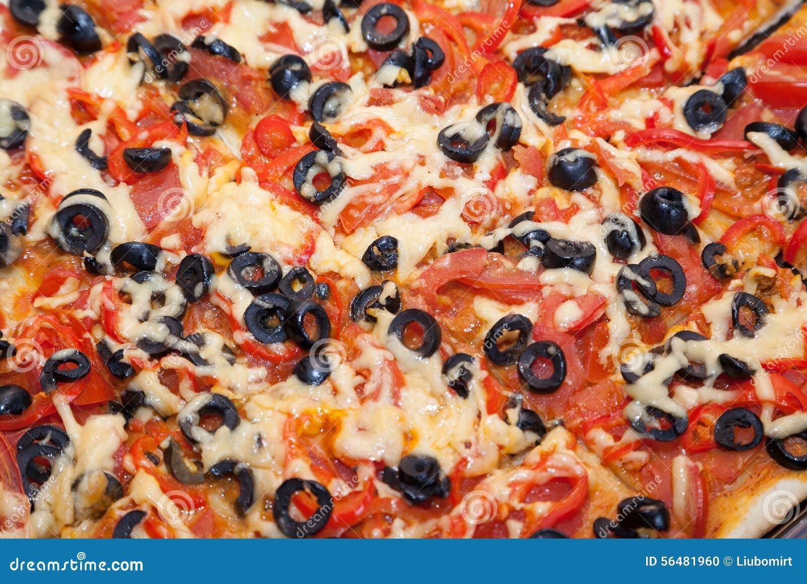 Plan rapproché de pizza végétarienne fraîche