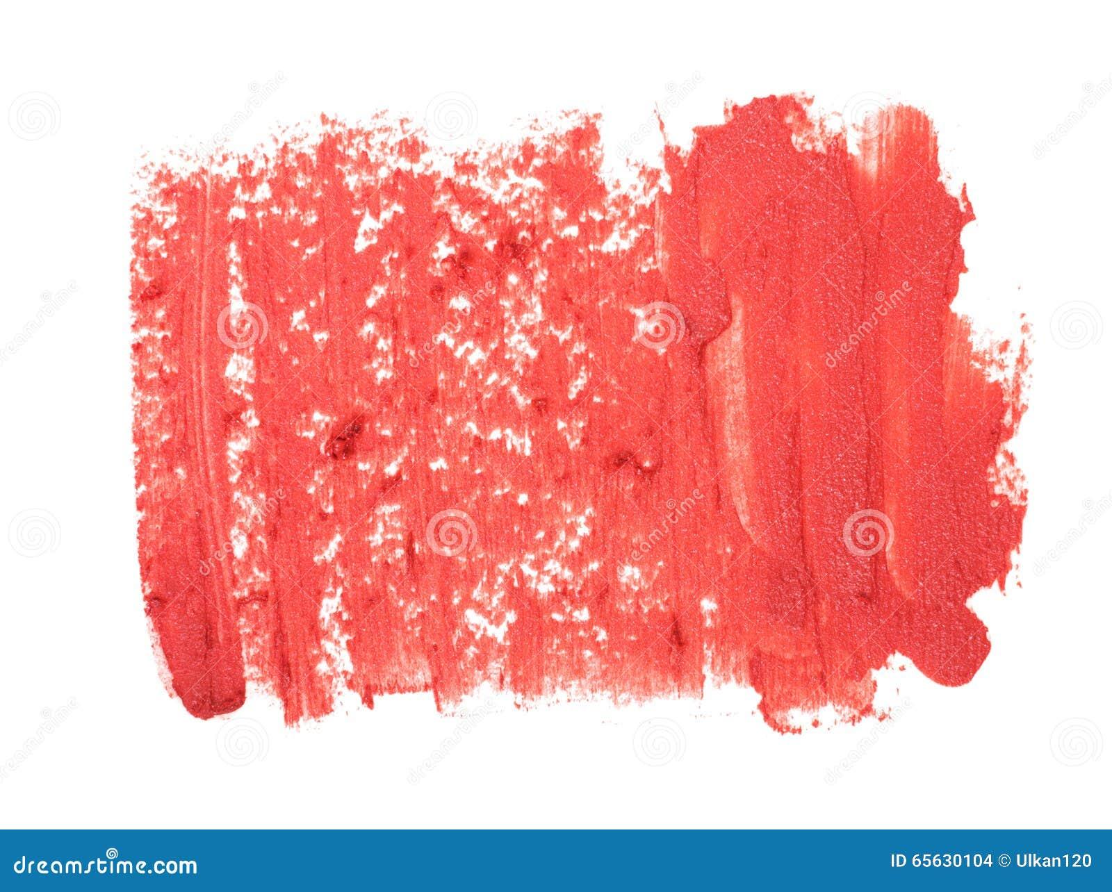 Plan rapproché de texture rouge de rouge à lèvres