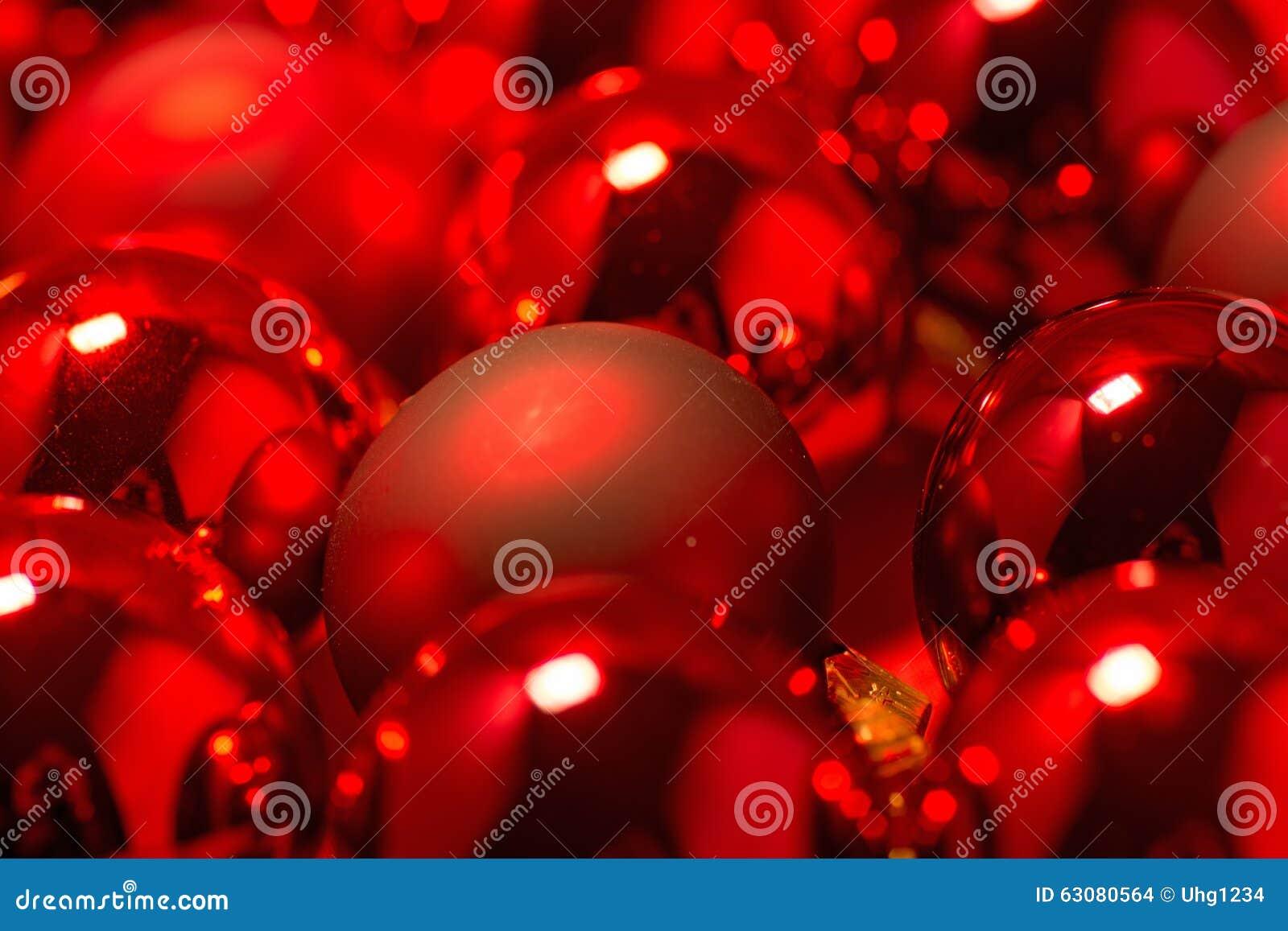 Download Plan Rapproché Des Boules De Noël Photo stock - Image du célébration, hiver: 63080564