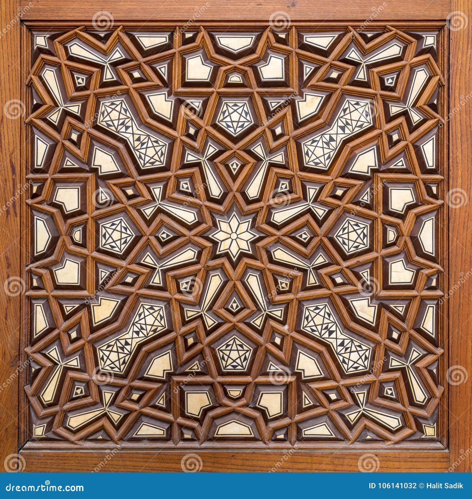 plan rapproch des ornements d 39 arabesque d 39 une vieille. Black Bedroom Furniture Sets. Home Design Ideas