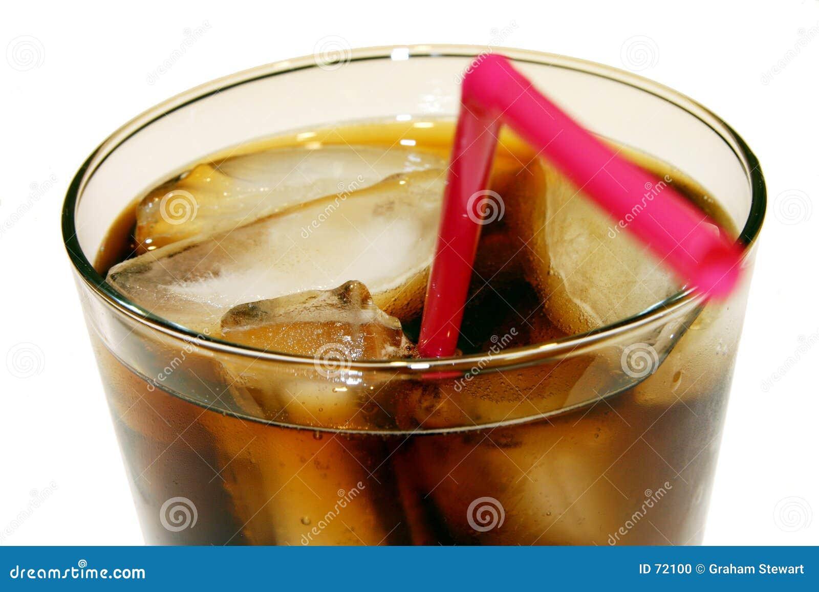 Plan rapproché en verre de kola