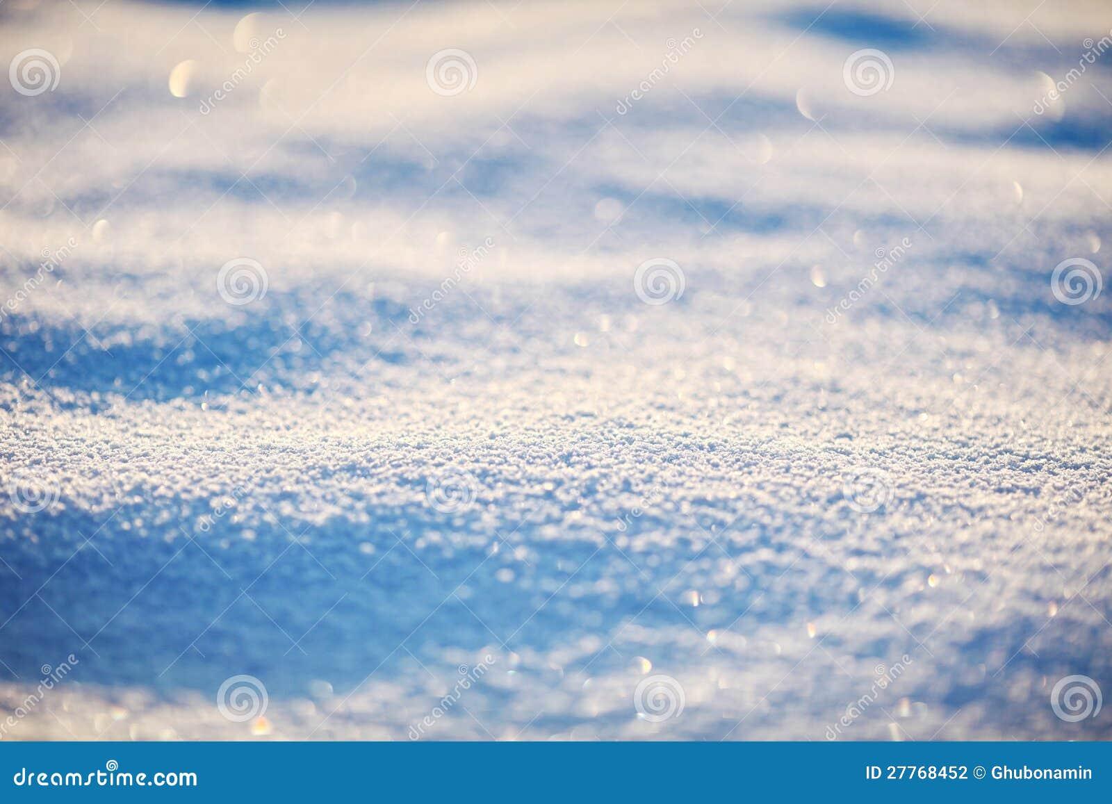 Plan rapproché extérieur de neige