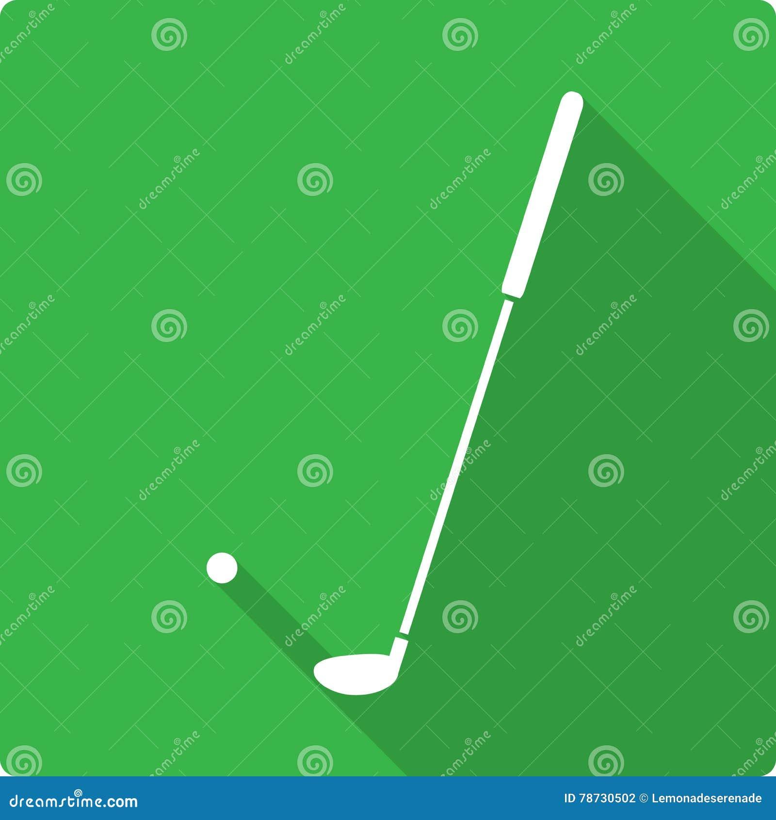 Plan symbol för golf