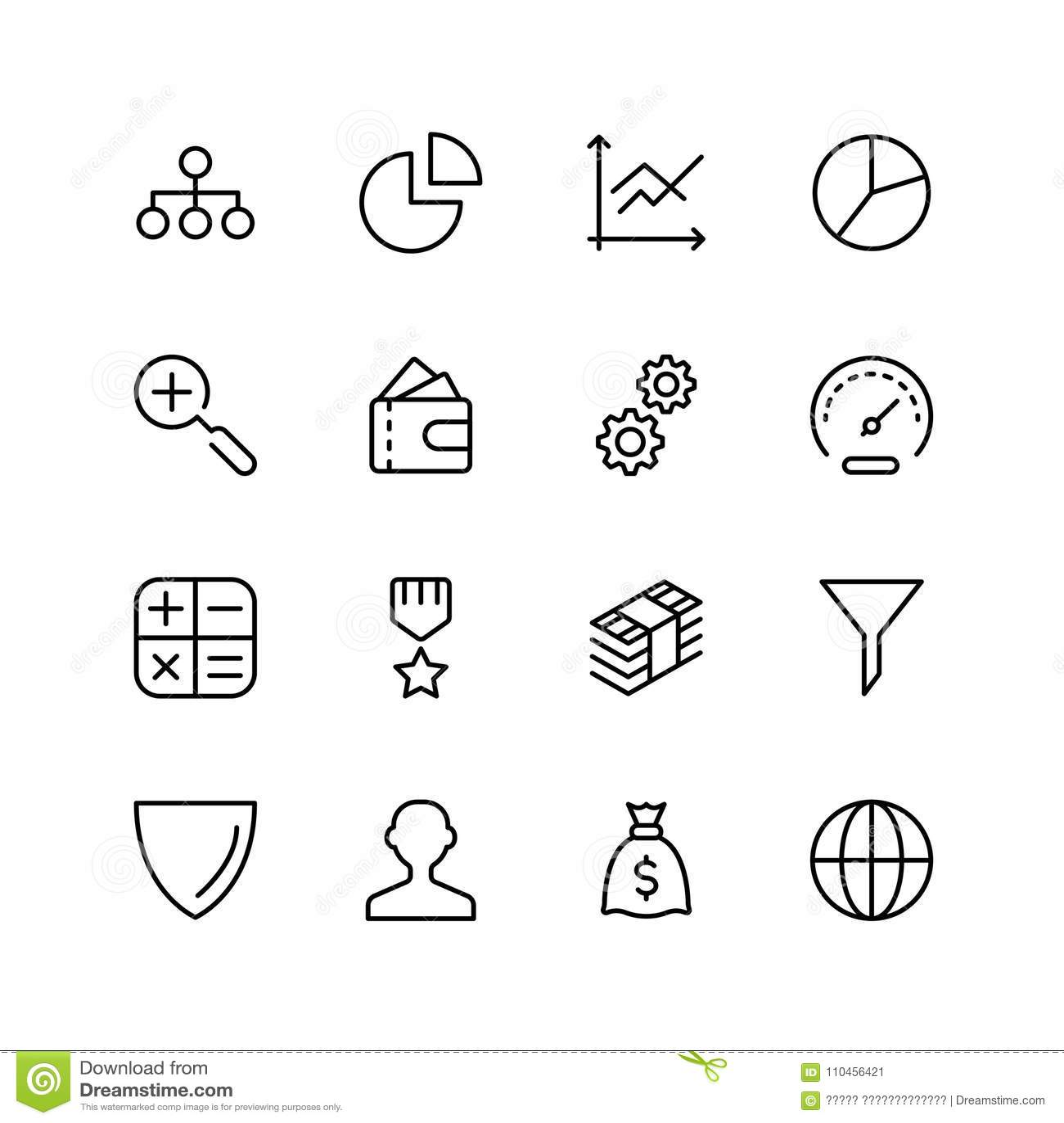 Plan symbol för handel