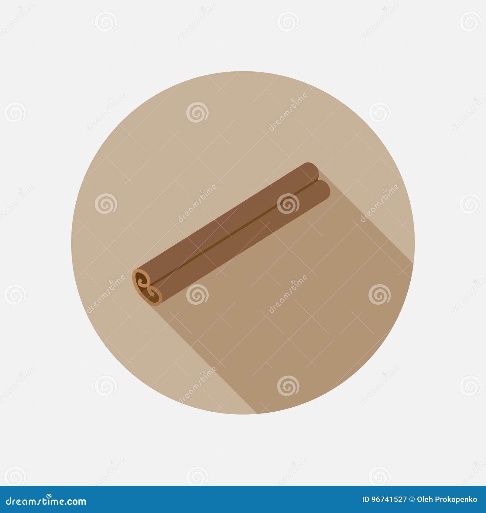 Plan symbol för kanel